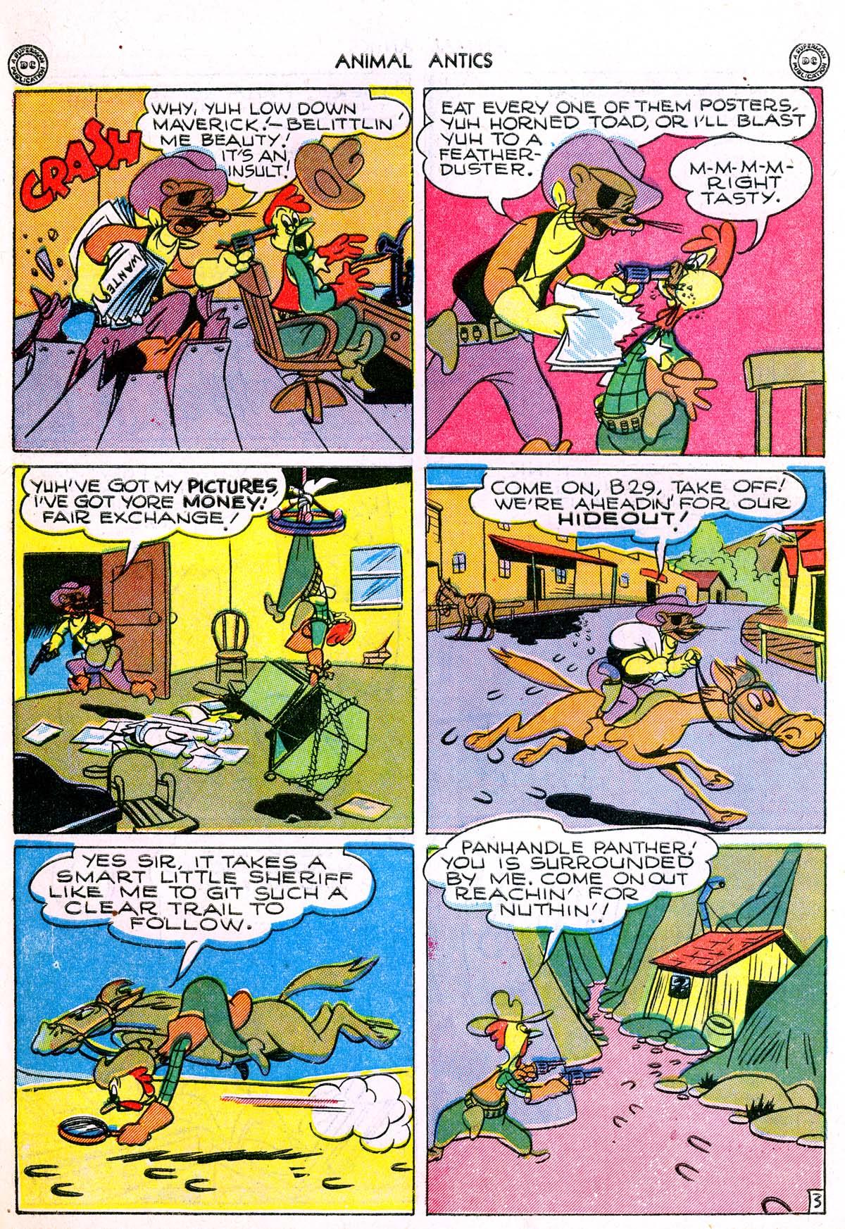 Read online Animal Antics comic -  Issue #1 - 14