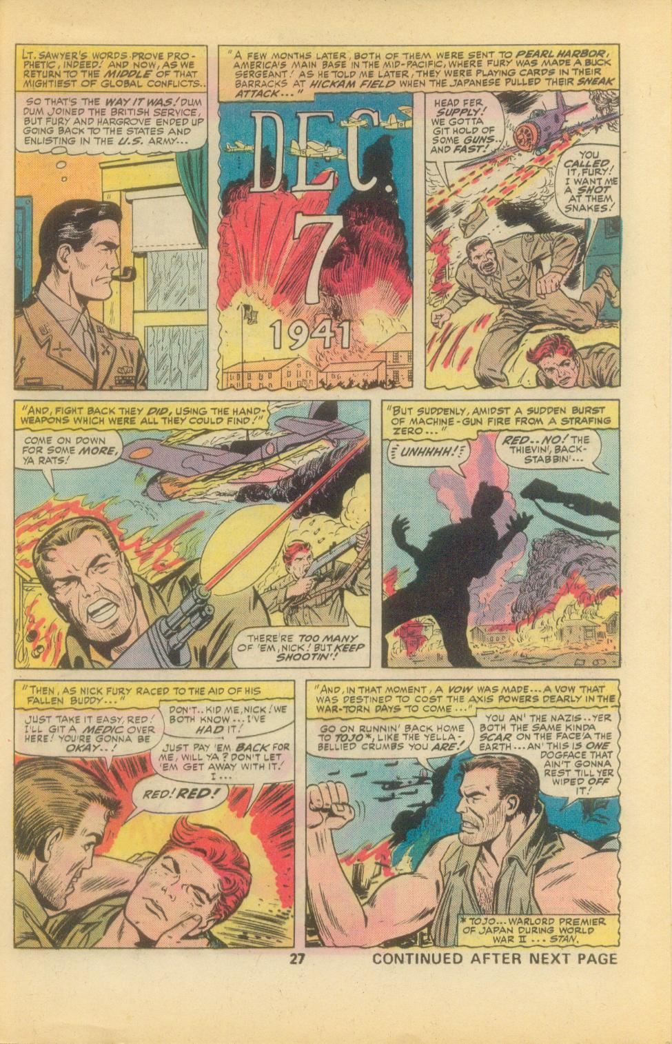 Read online Sgt. Fury comic -  Issue #136 - 29