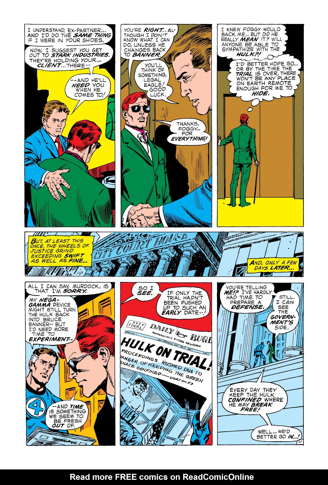 Read online Marvel Masterworks: The Incredible Hulk comic -  Issue # TPB 8 (Part 3) - 7