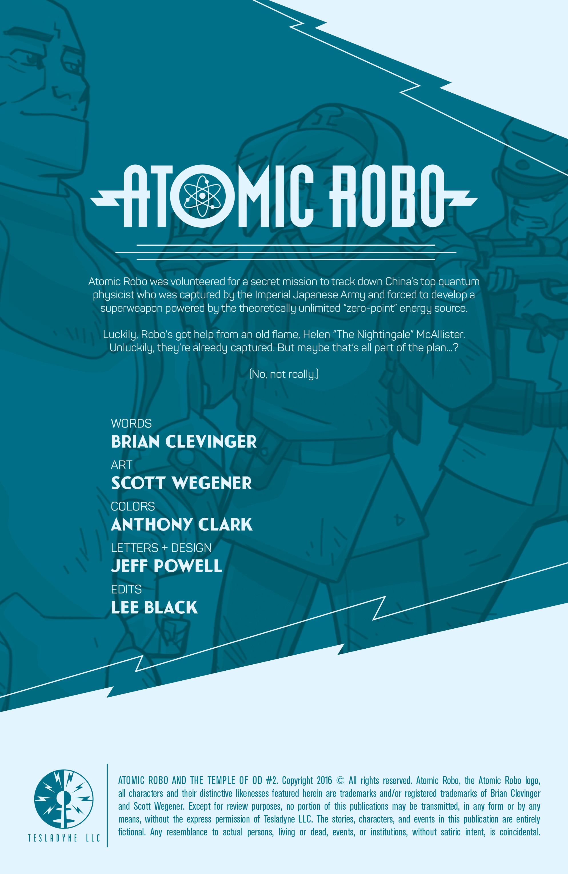 Read online Atomic Robo and the Temple of Od comic -  Issue #2 - 2