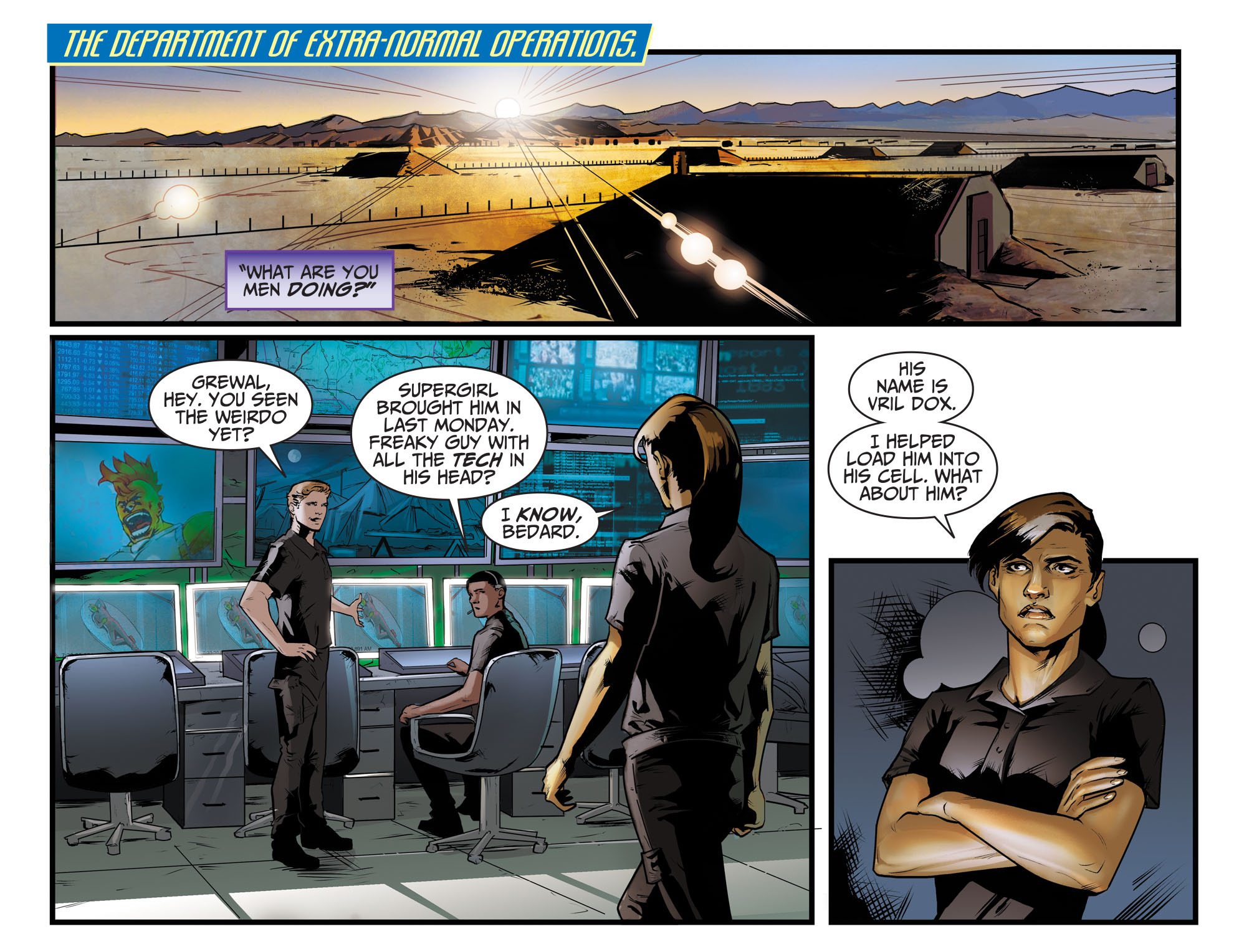 Read online Adventures of Supergirl comic -  Issue #8 - 3