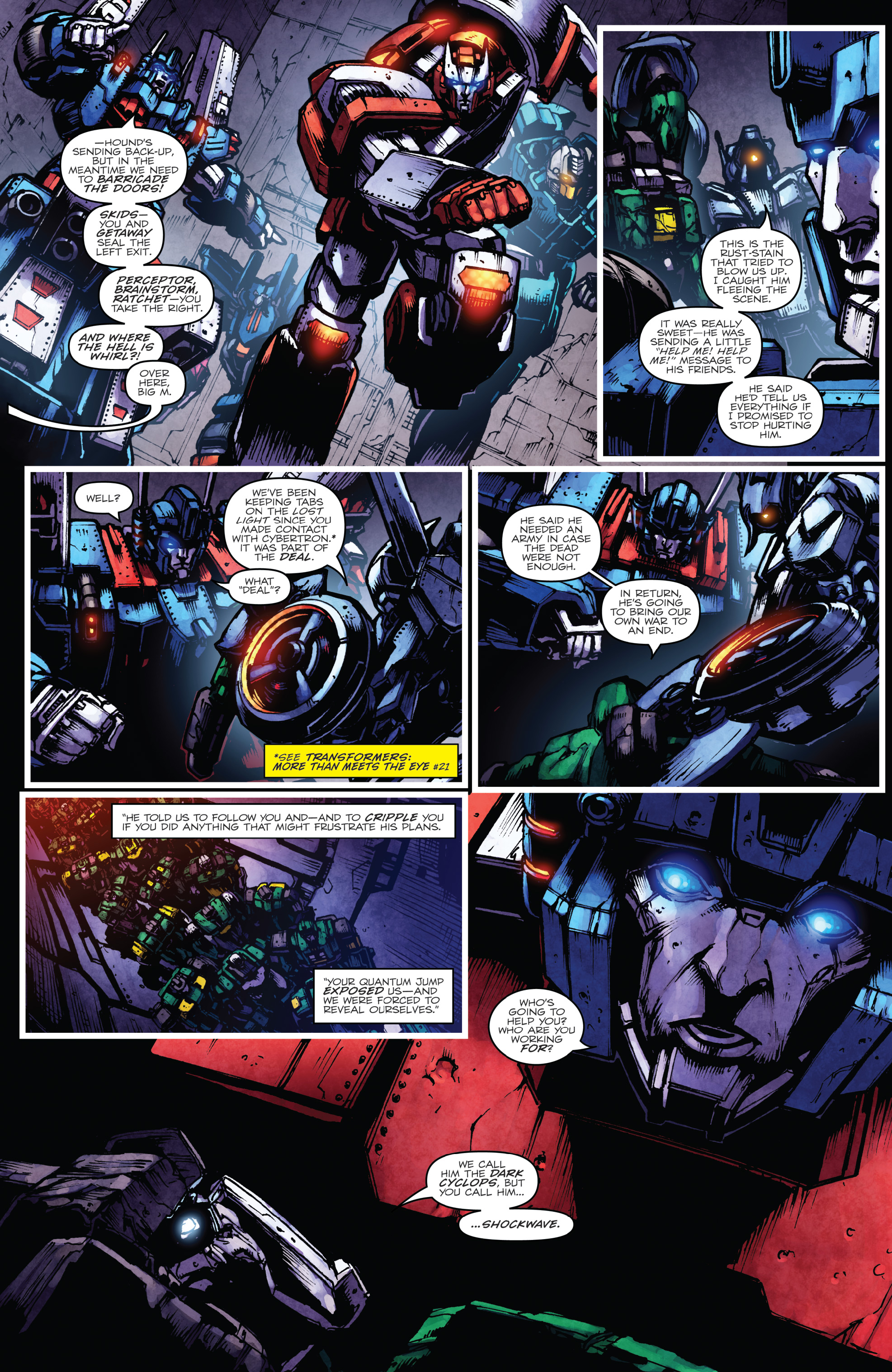 Read online The Transformers: Dark Cybertron Finale comic -  Issue # Full - 25