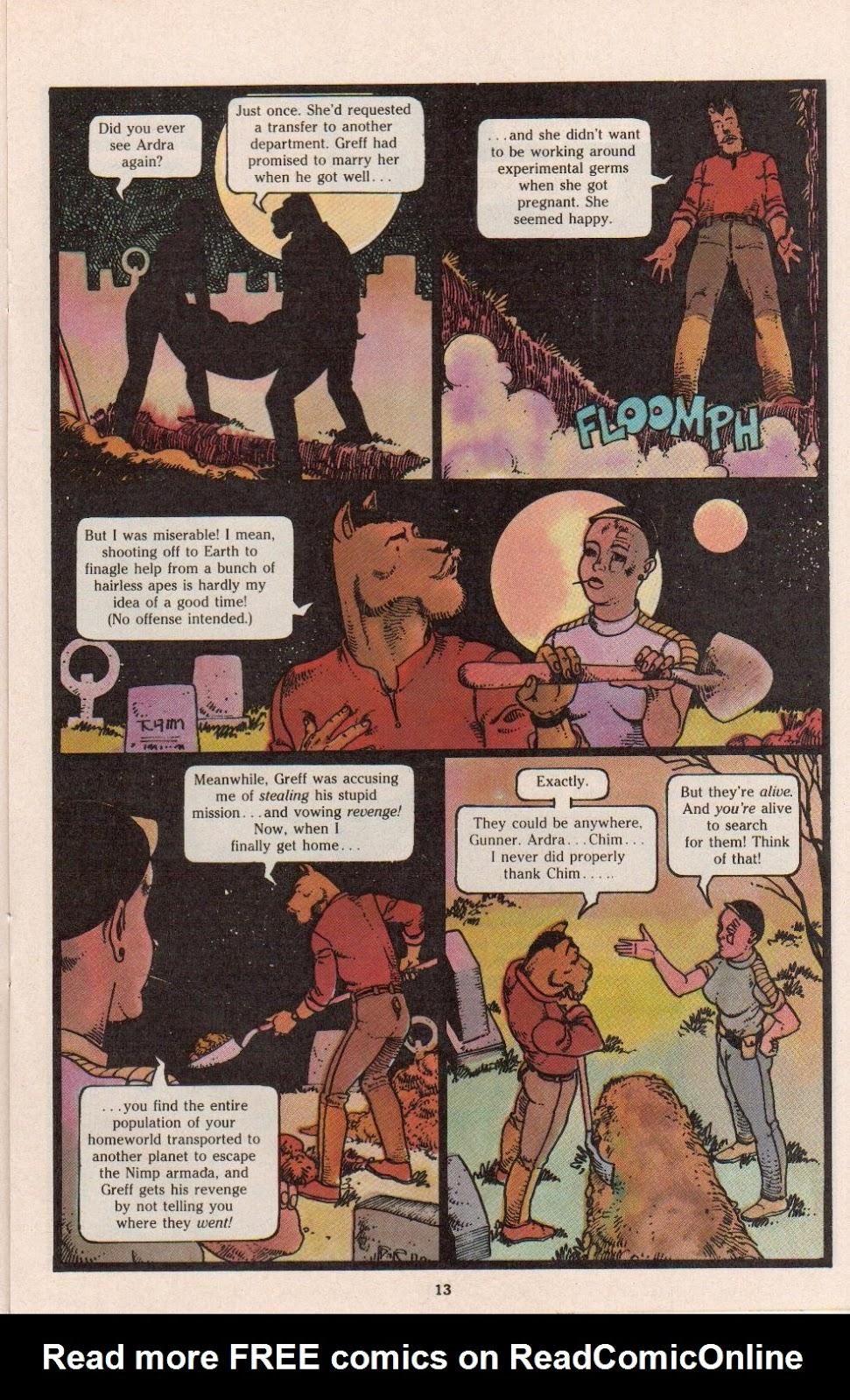 Read online Dalgoda comic -  Issue #7 - 15