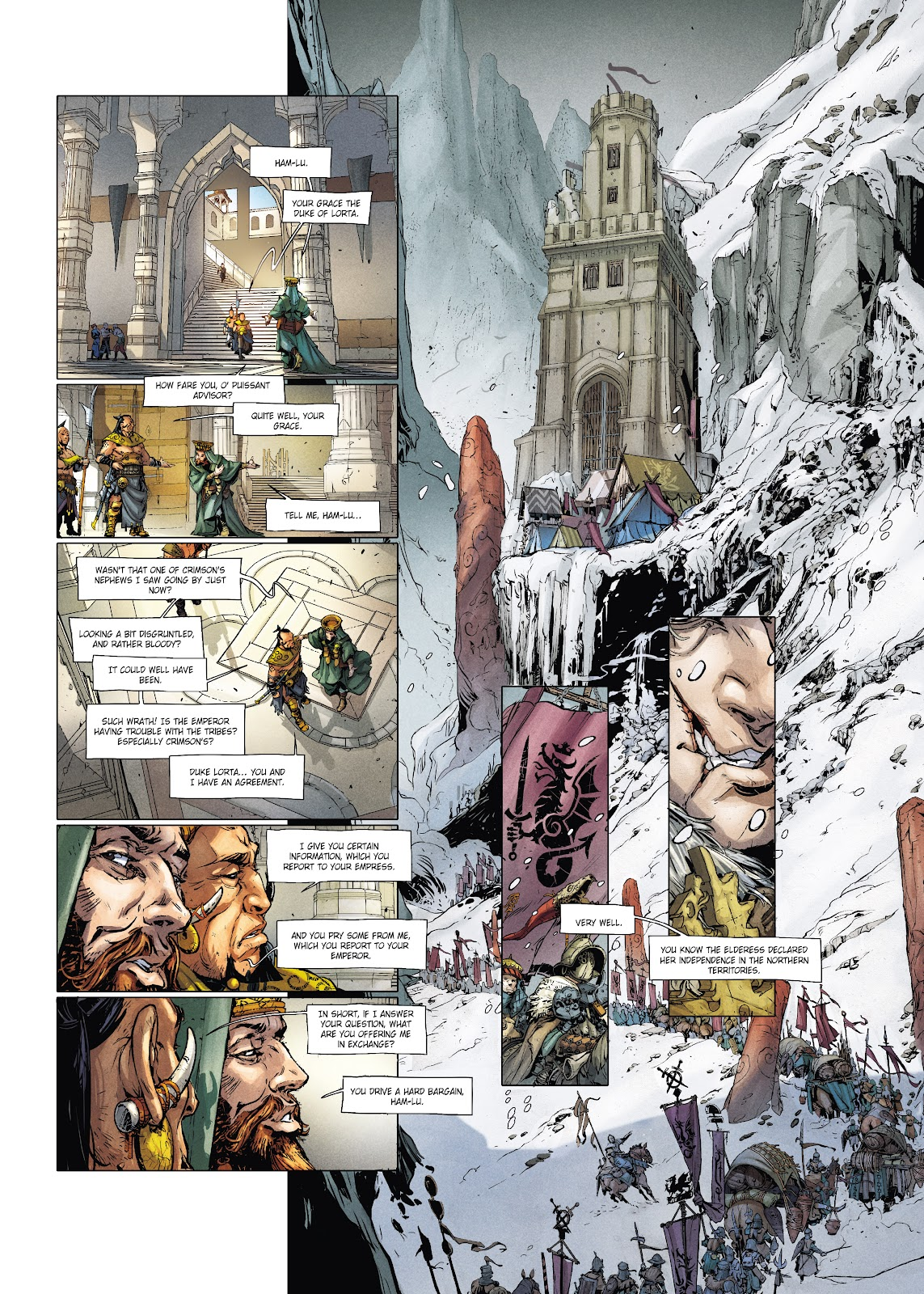 Read online Chronicles of the Dragon Knights comic -  Issue #20 - 22