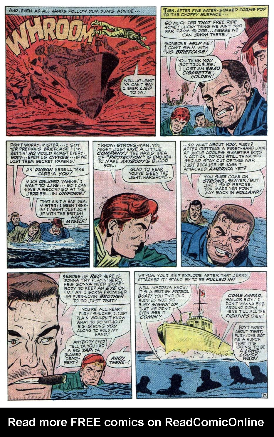 Read online Sgt. Fury comic -  Issue #101 - 29