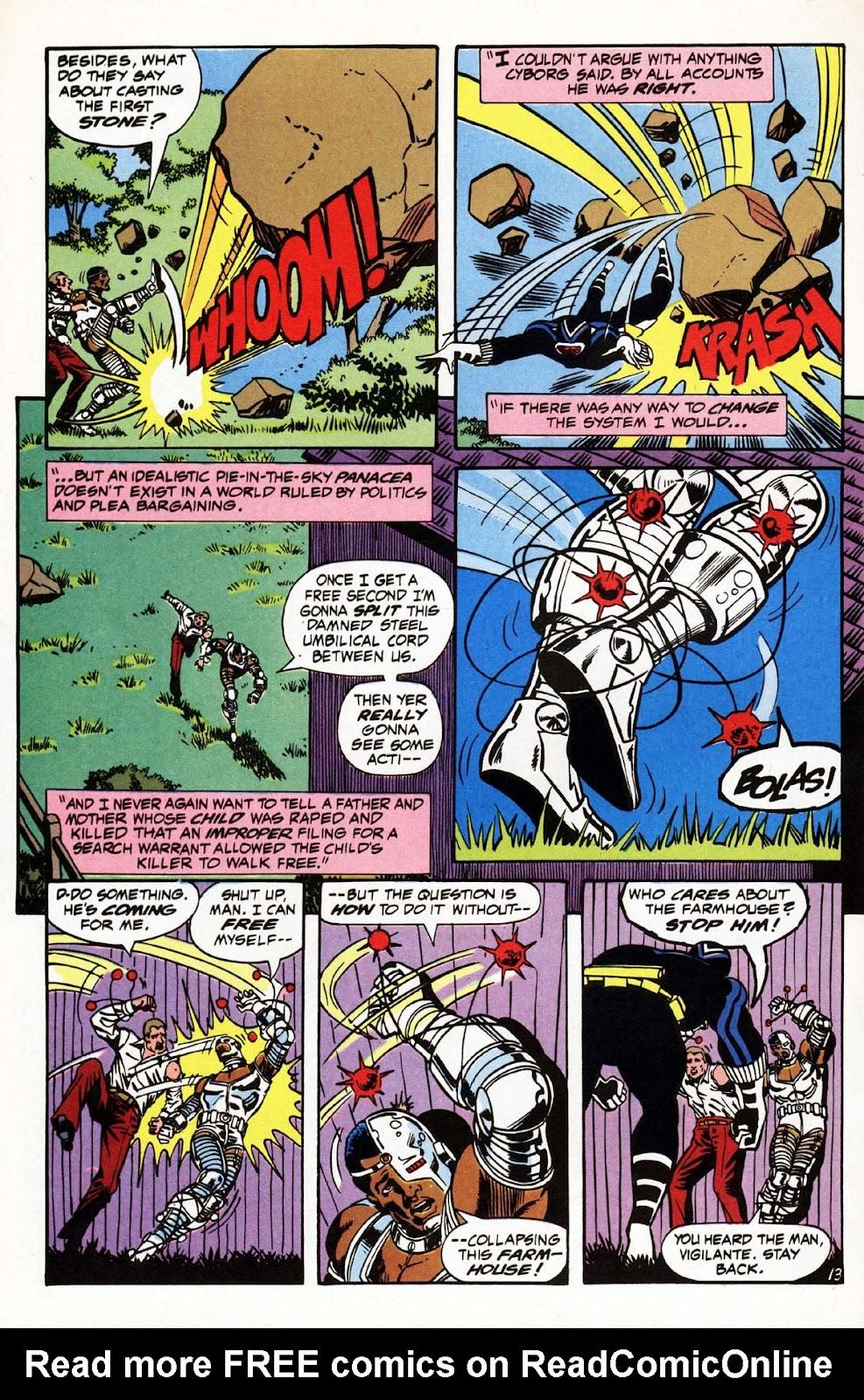 Vigilante (1983) issue 3 - Page 14