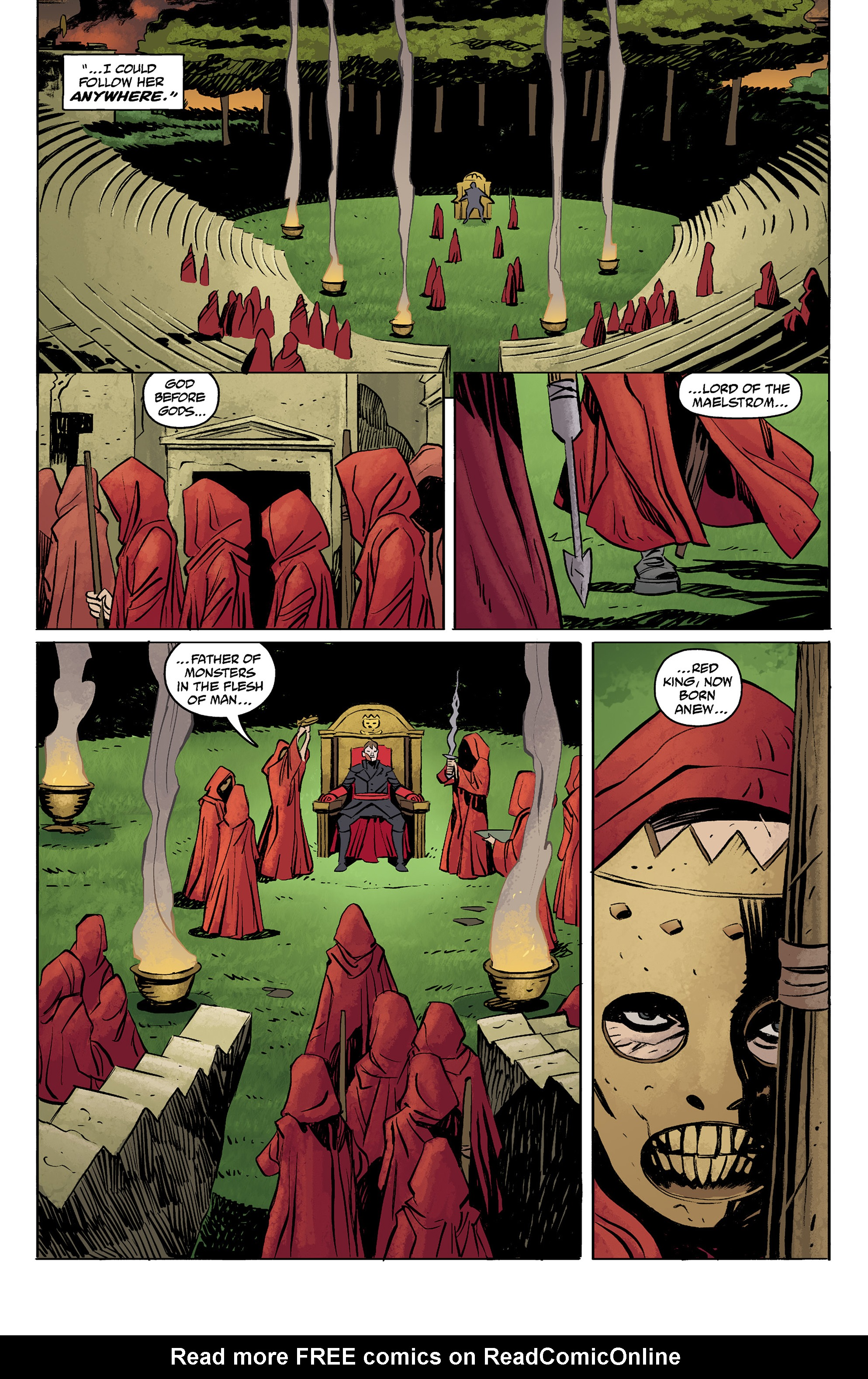 Read online Baltimore: The Red Kingdom comic -  Issue #5 - 8