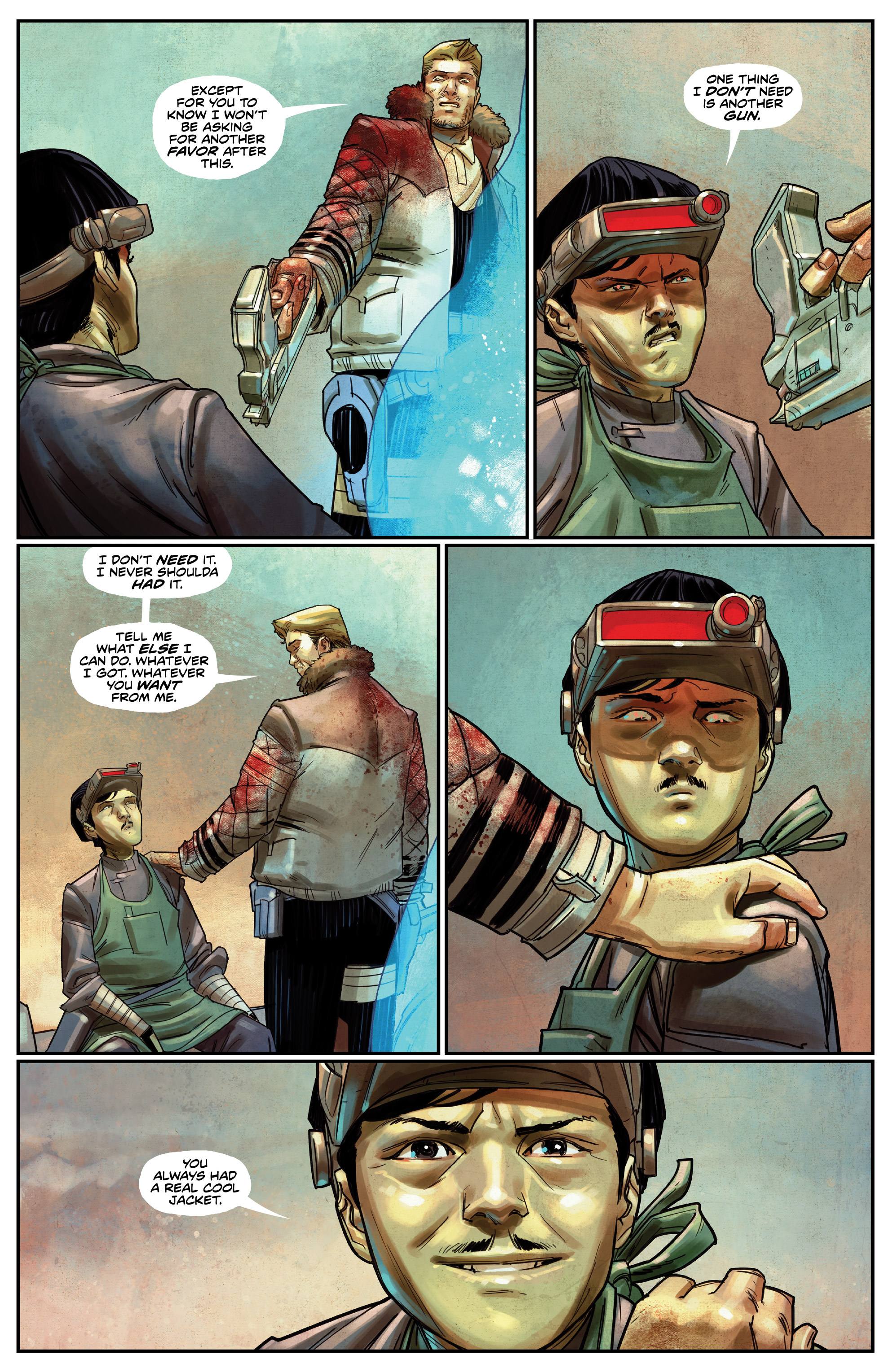 Read online Drifter (2014) comic -  Issue #19 - 13