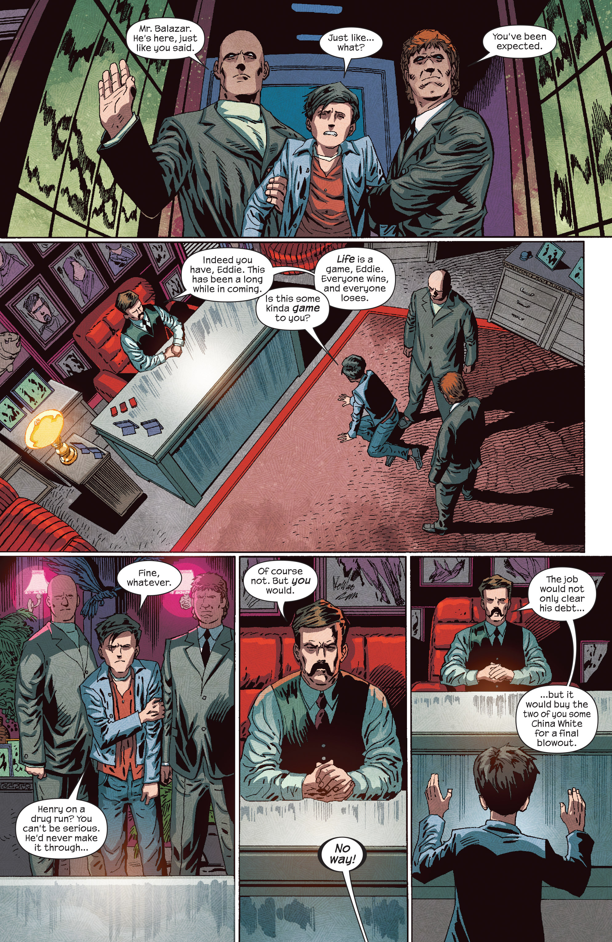Read online Dark Tower: The Drawing of the Three - The Prisoner comic -  Issue #4 - 13