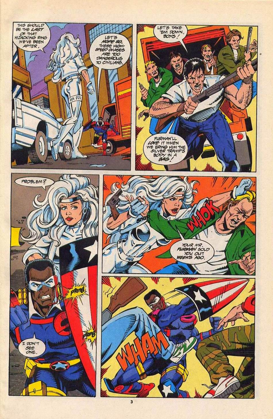 Read online Silver Sable and the Wild Pack comic -  Issue #27 - 4