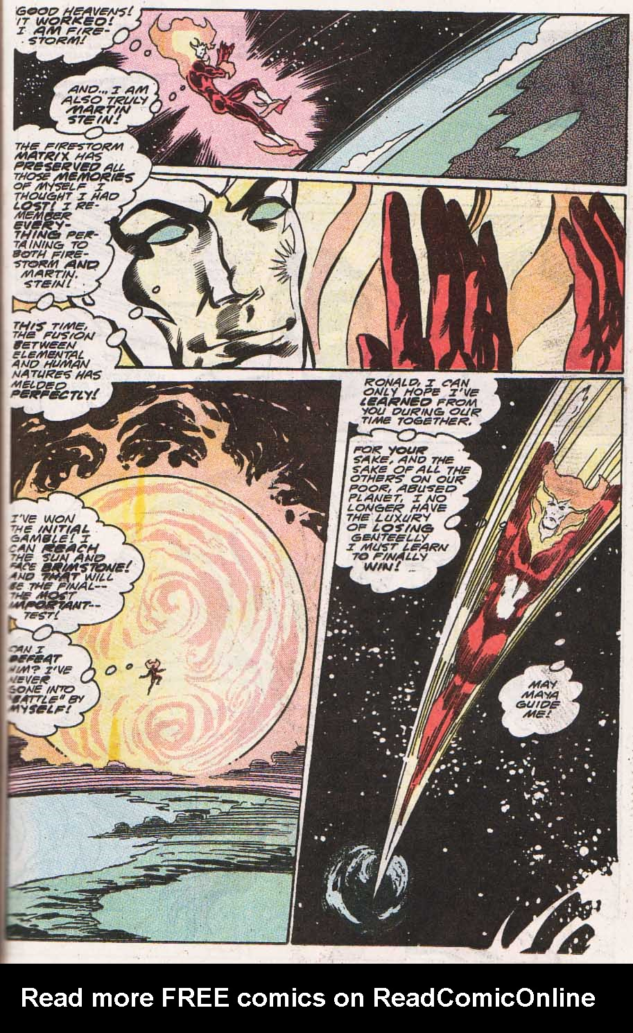 Firestorm, the Nuclear Man Issue #100 #36 - English 34