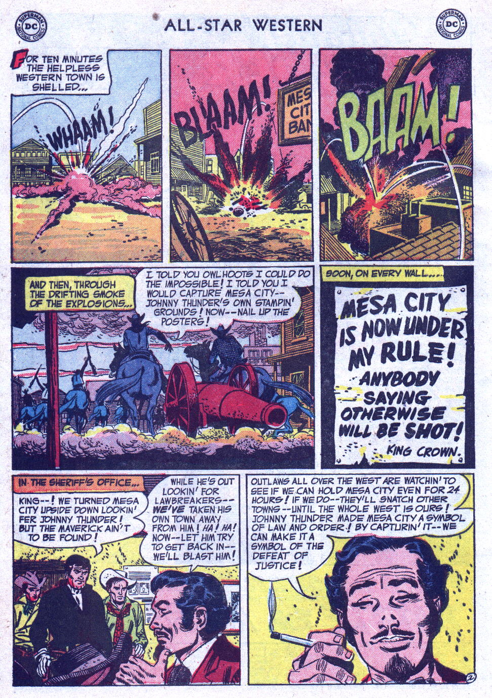 Read online All-Star Western (1951) comic -  Issue #71 - 4