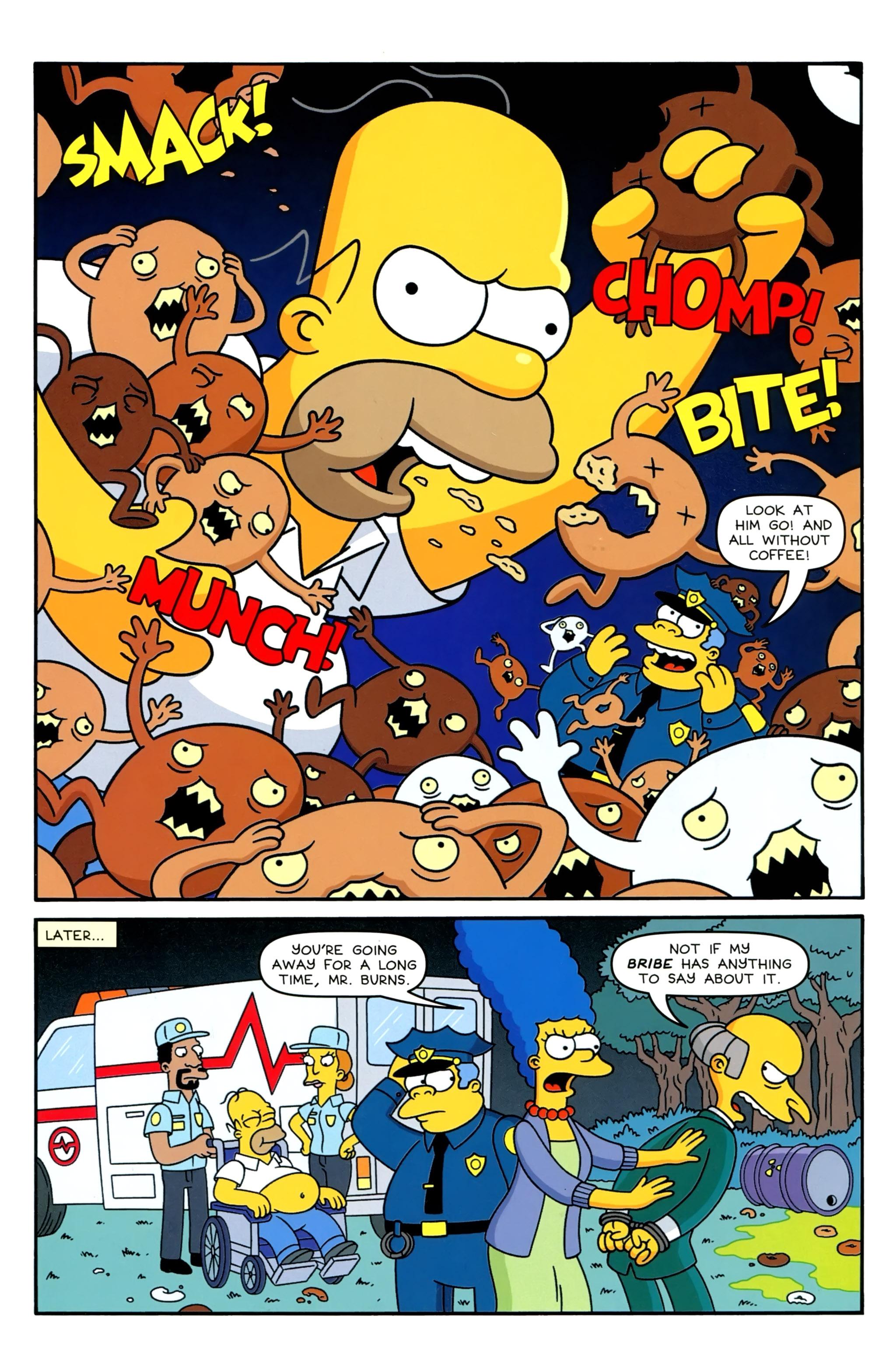 Read online Simpsons Comics comic -  Issue #230 - 24