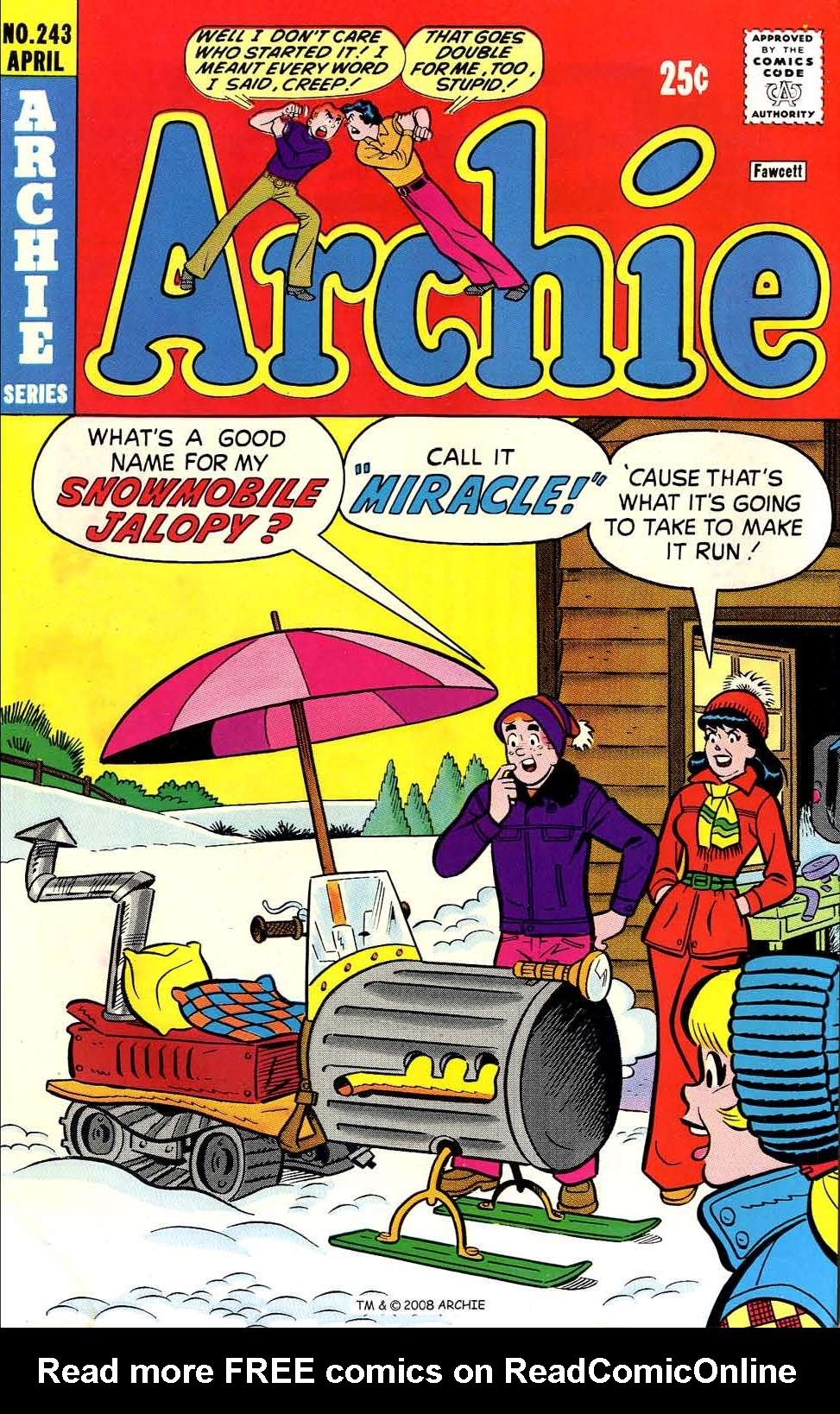 Read online Archie (1960) comic -  Issue #243 - 1