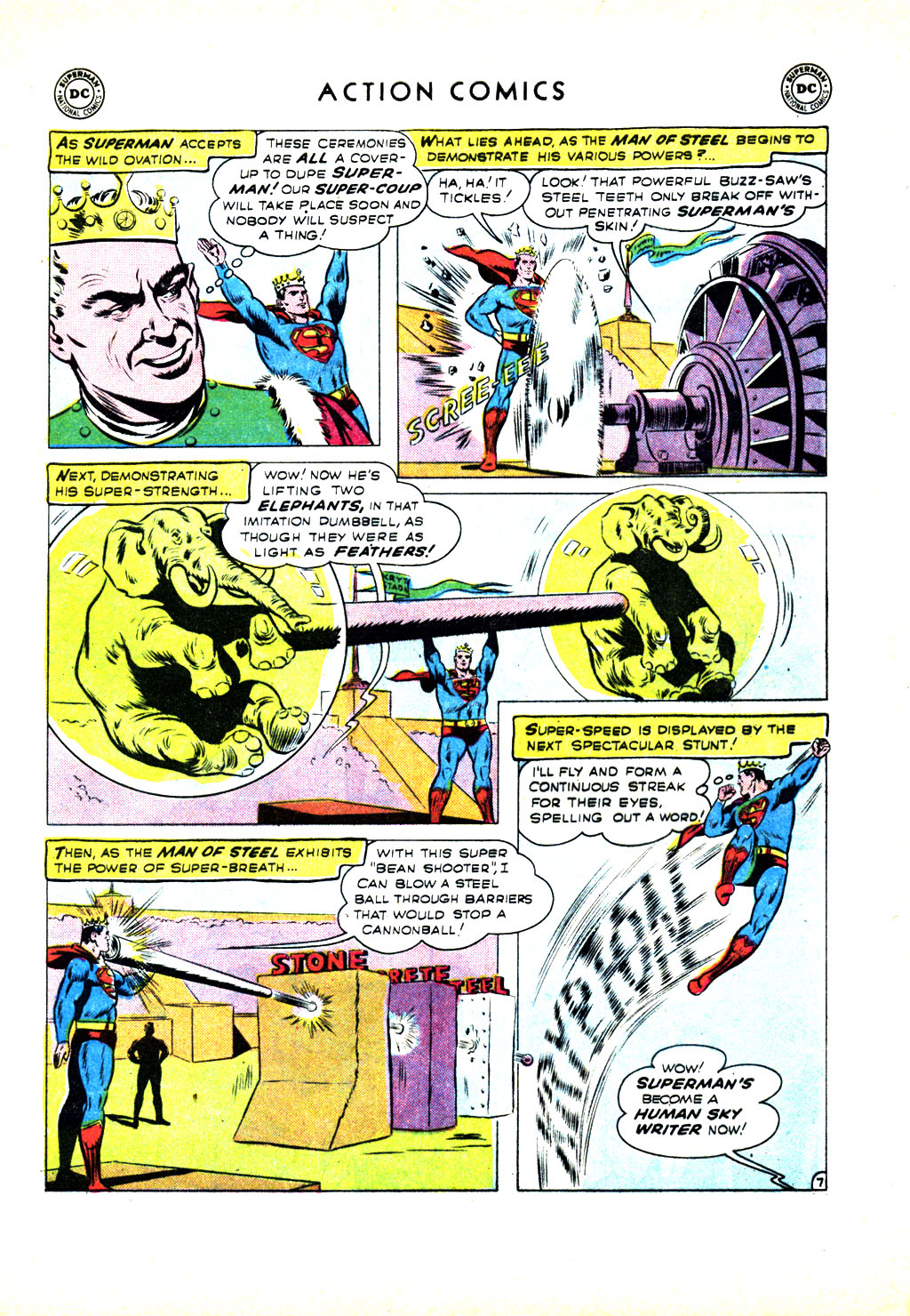 Read online Action Comics (1938) comic -  Issue #246 - 9