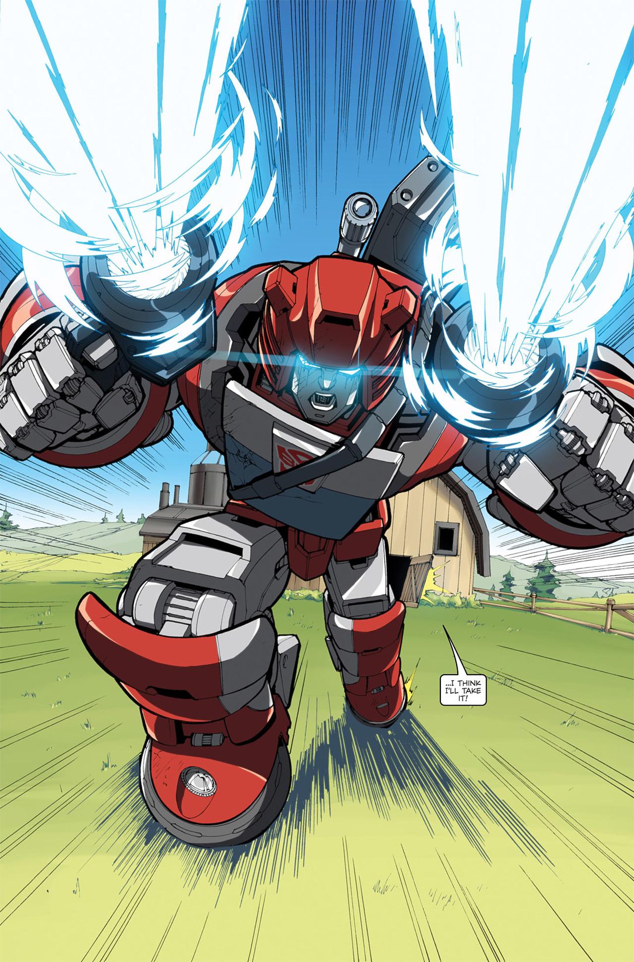 Read online Transformers Spotlight: Cliffjumper comic -  Issue # Full - 25