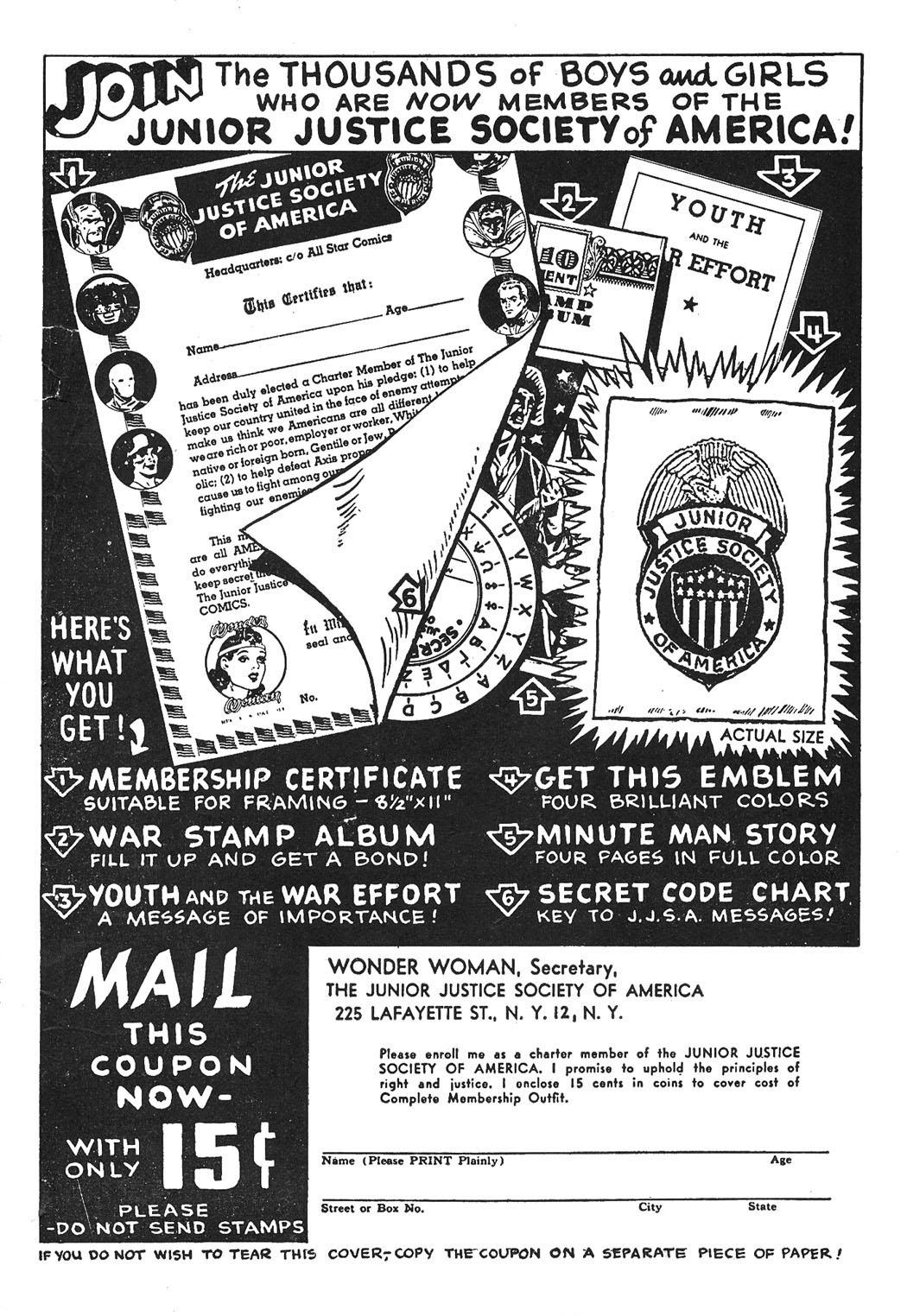 Read online Sensation (Mystery) Comics comic -  Issue #43 - 50