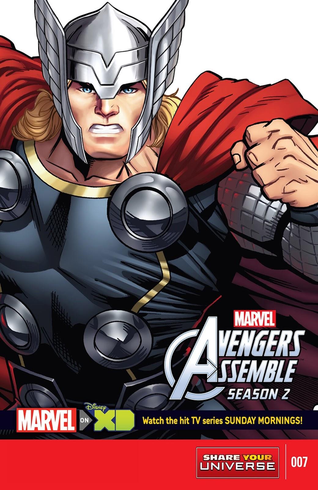 Read online Marvel Universe Avengers Assemble Season 2 comic -  Issue #7 - 1