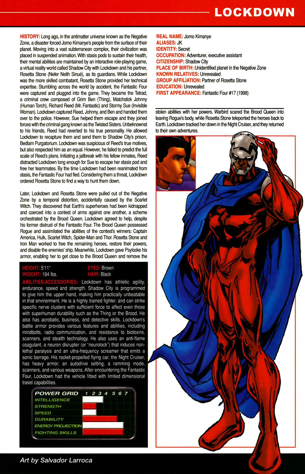 Read online All-New Official Handbook of the Marvel Universe A to Z comic -  Issue #6 - 31