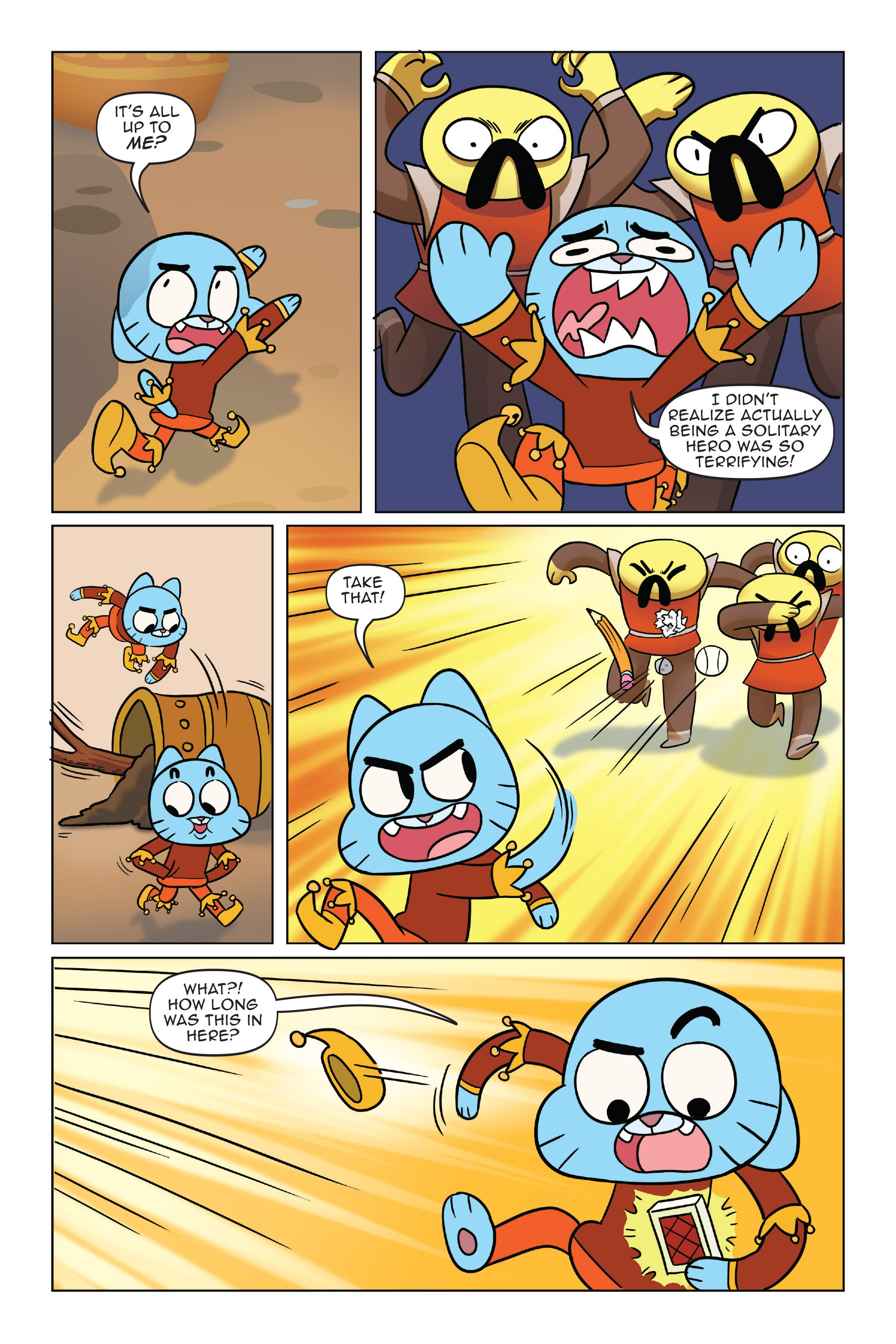 Read online The Amazing World of Gumball: Fairy Tale Trouble comic -  Issue # Full - 123