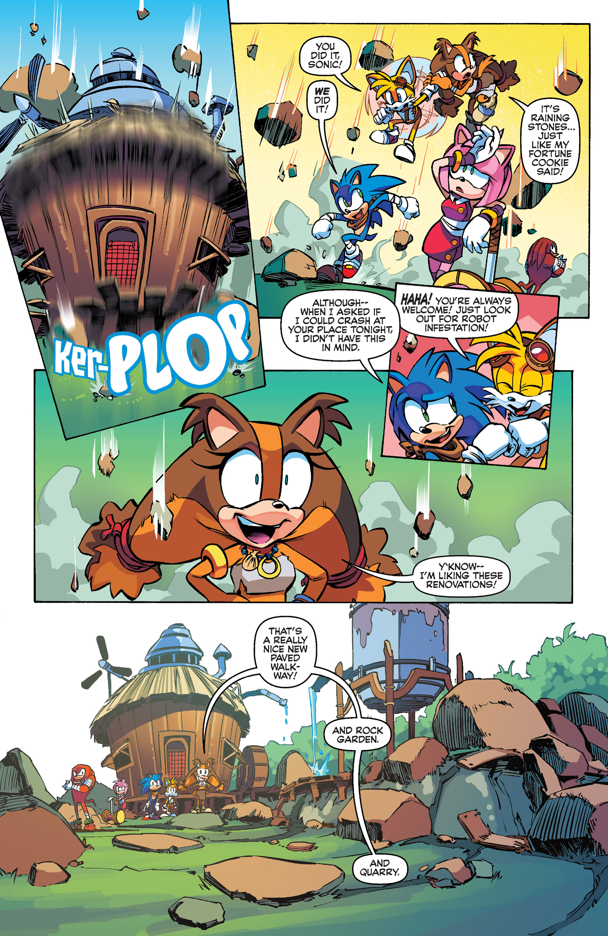 Read online Sonic Boom comic -  Issue #1 - 21