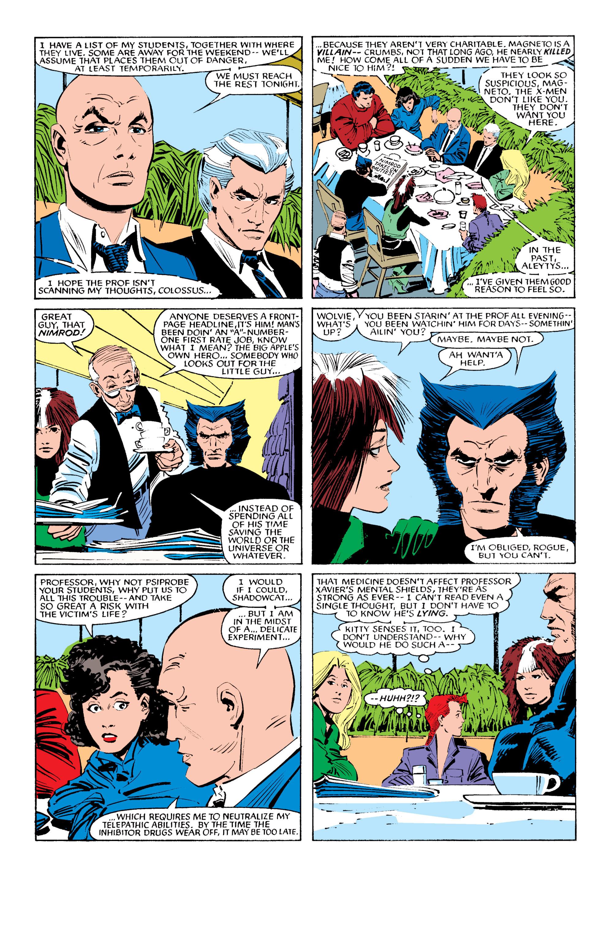 Read online Uncanny X-Men (1963) comic -  Issue #196 - 6