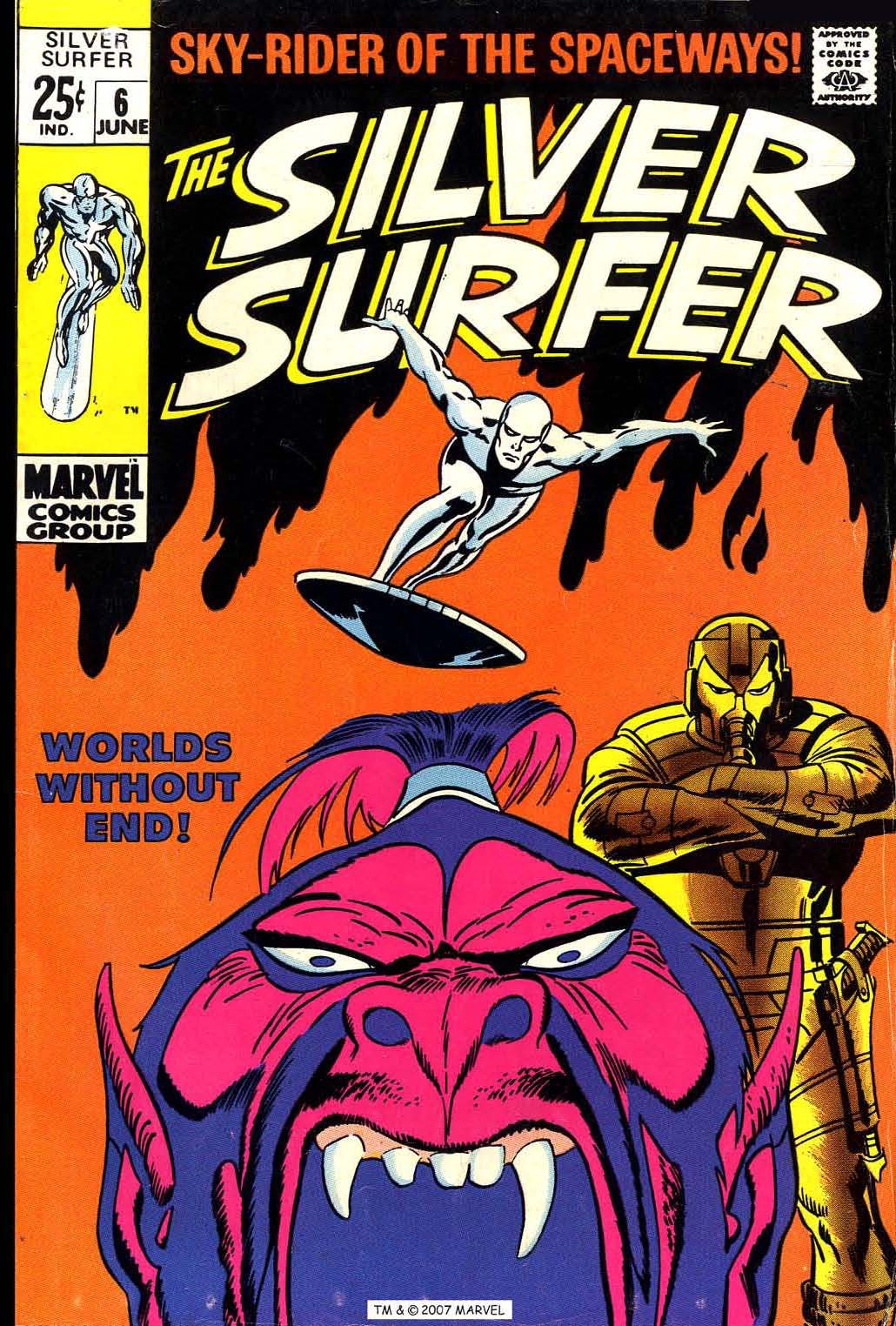 Silver Surfer (1968) issue 6 - Page 1