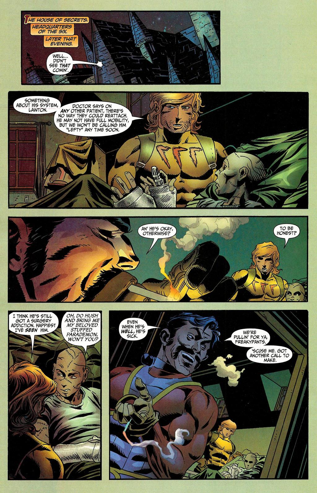 Read online Secret Six (2006) comic -  Issue #4 - 25