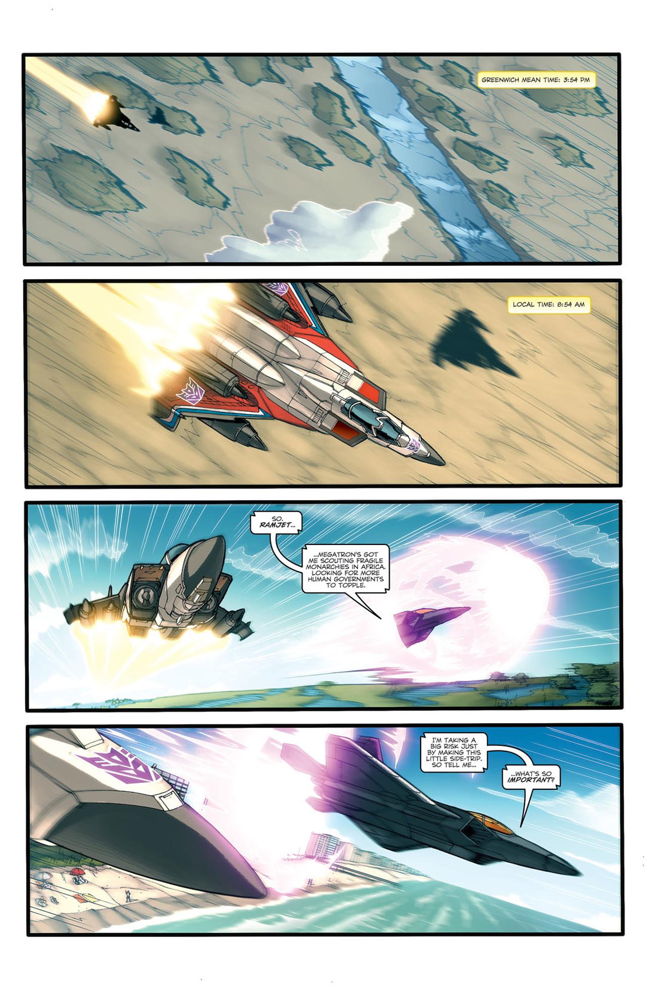 Read online Transformers Spotlight: Ramjet comic -  Issue # Full - 3