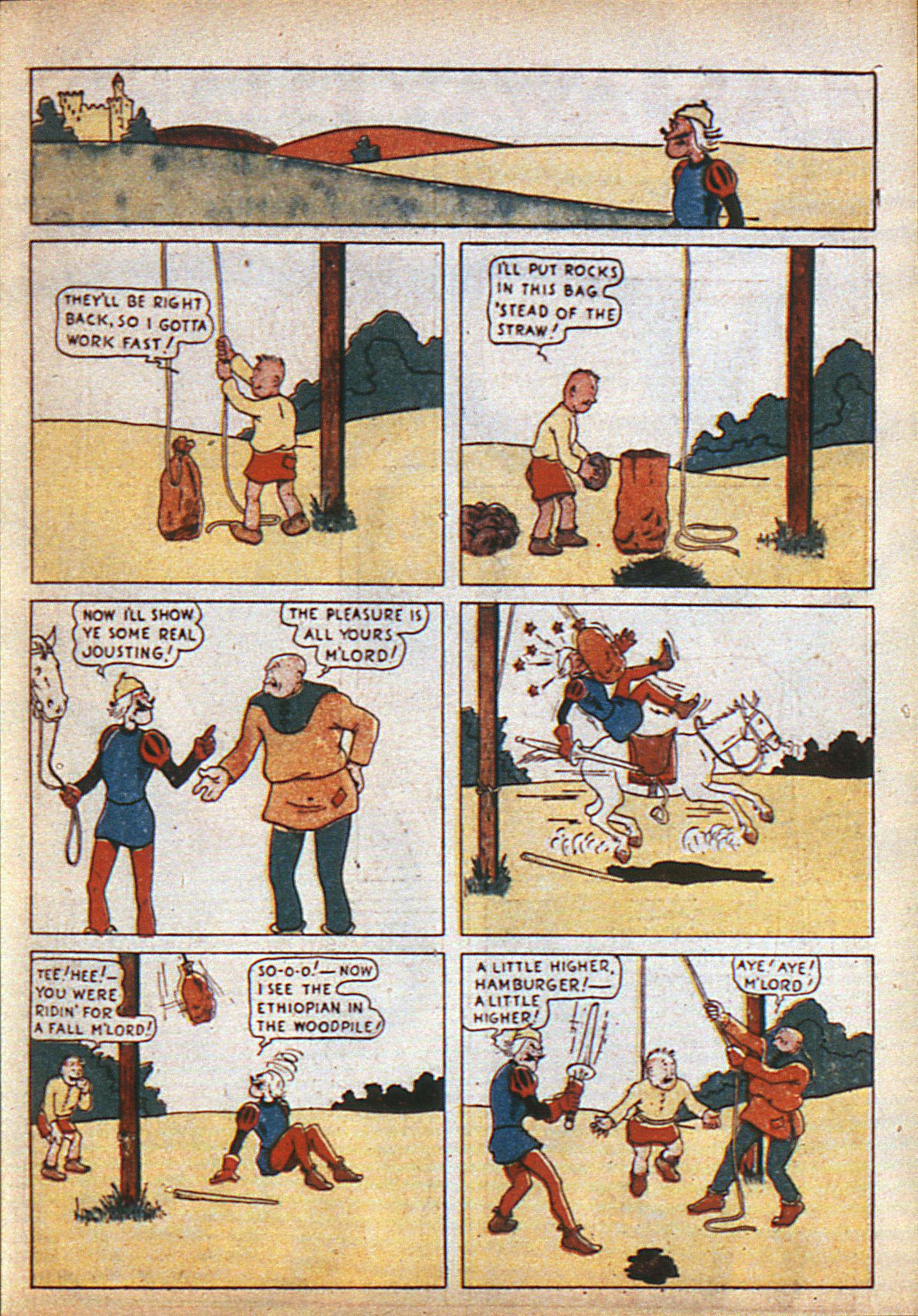 Read online Adventure Comics (1938) comic -  Issue #6 - 8
