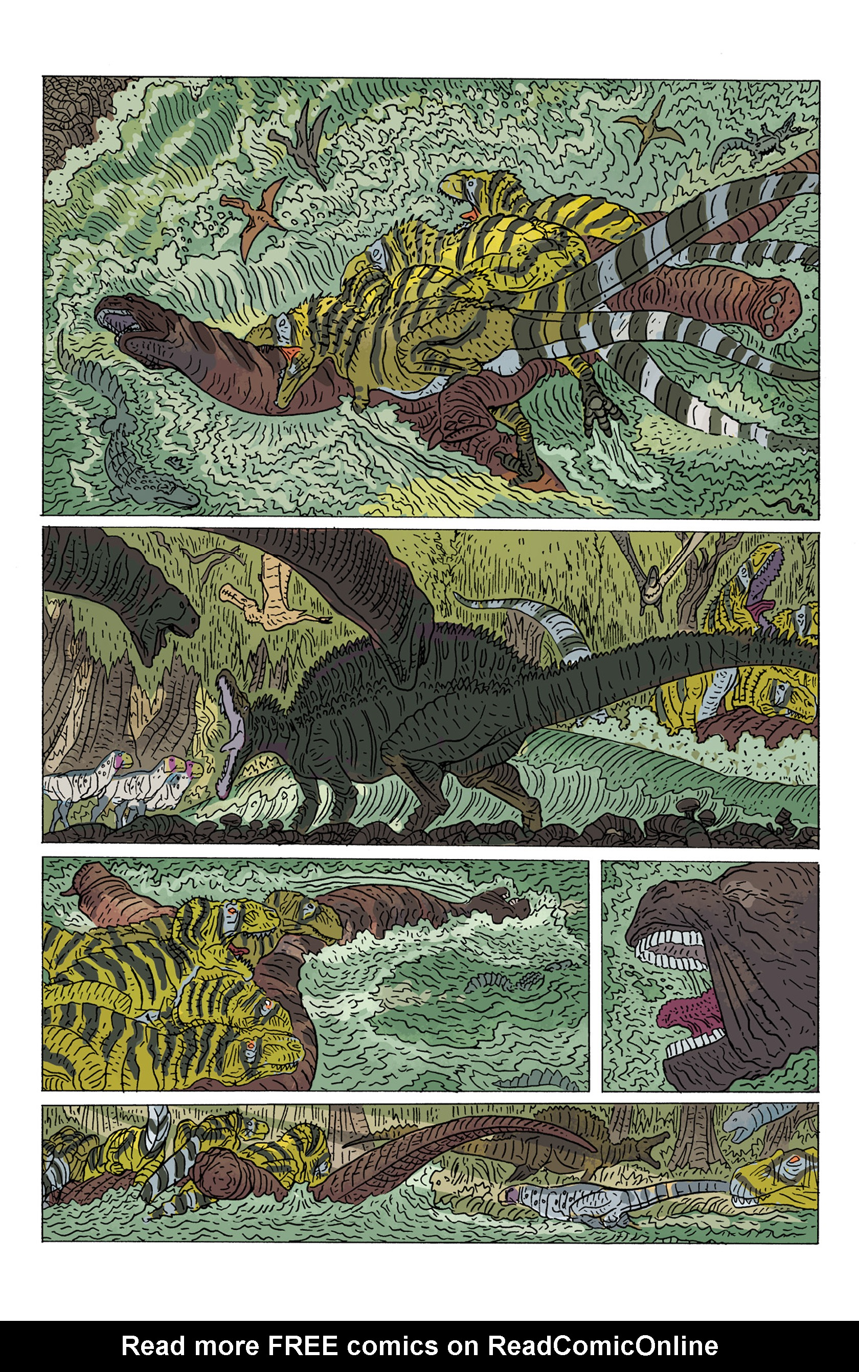 Read online Age of Reptiles: Ancient Egyptians comic -  Issue #4 - 10