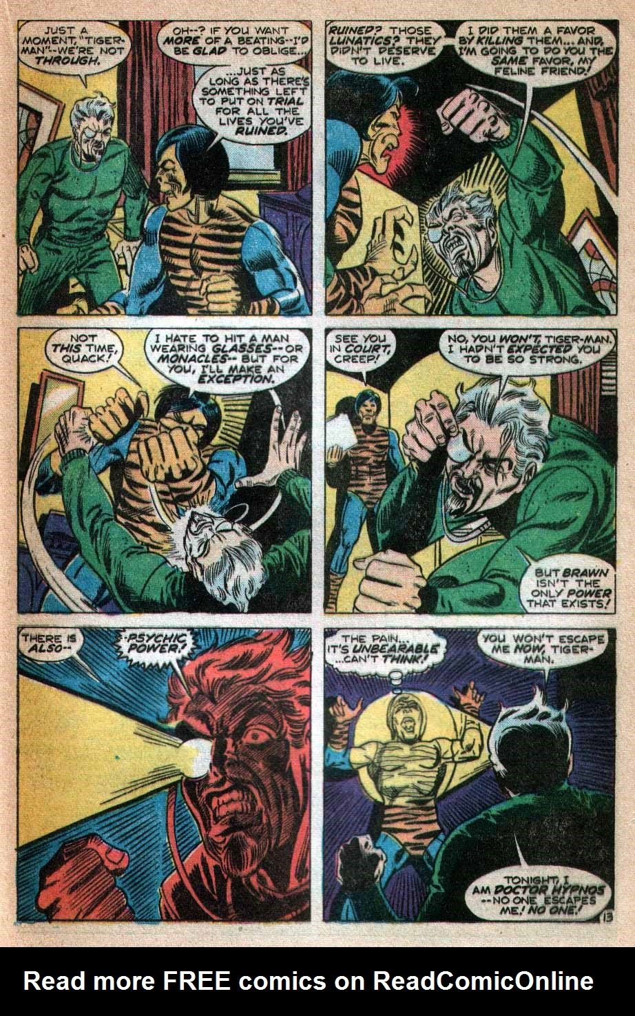Read online Tiger-Man comic -  Issue #3 - 14