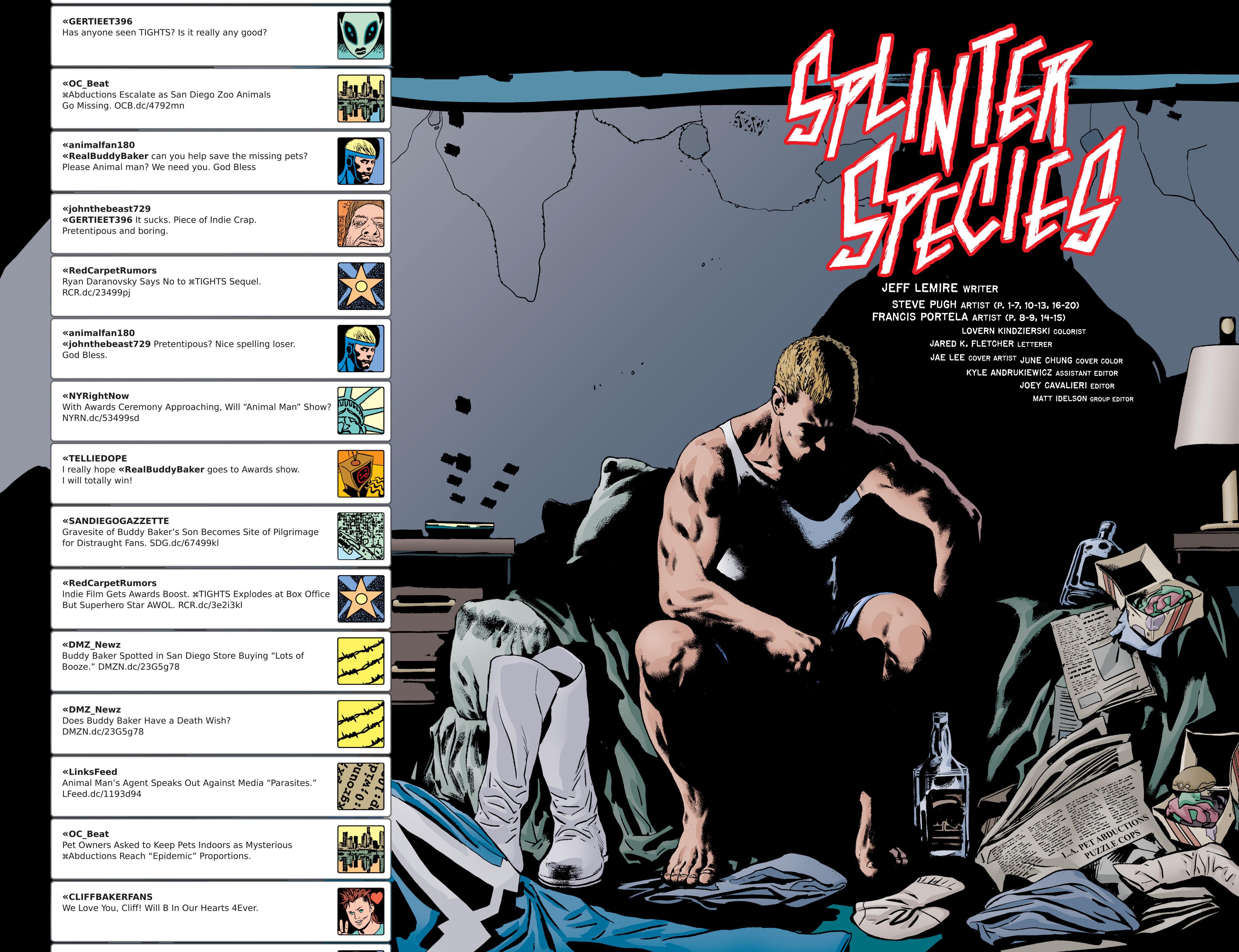 Read online Animal Man (2011) comic -  Issue #21 - 3