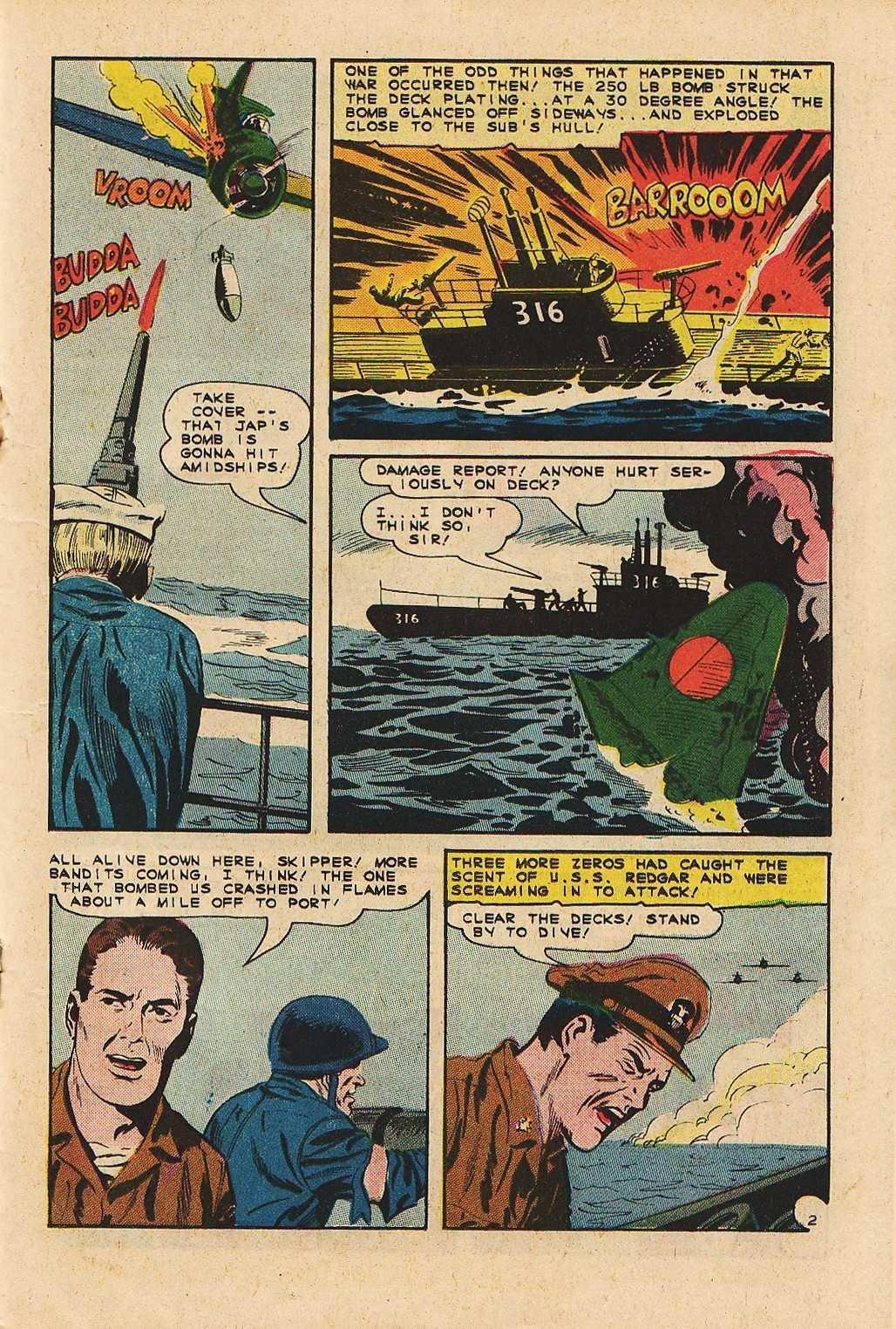 Read online Fightin' Navy comic -  Issue #121 - 19