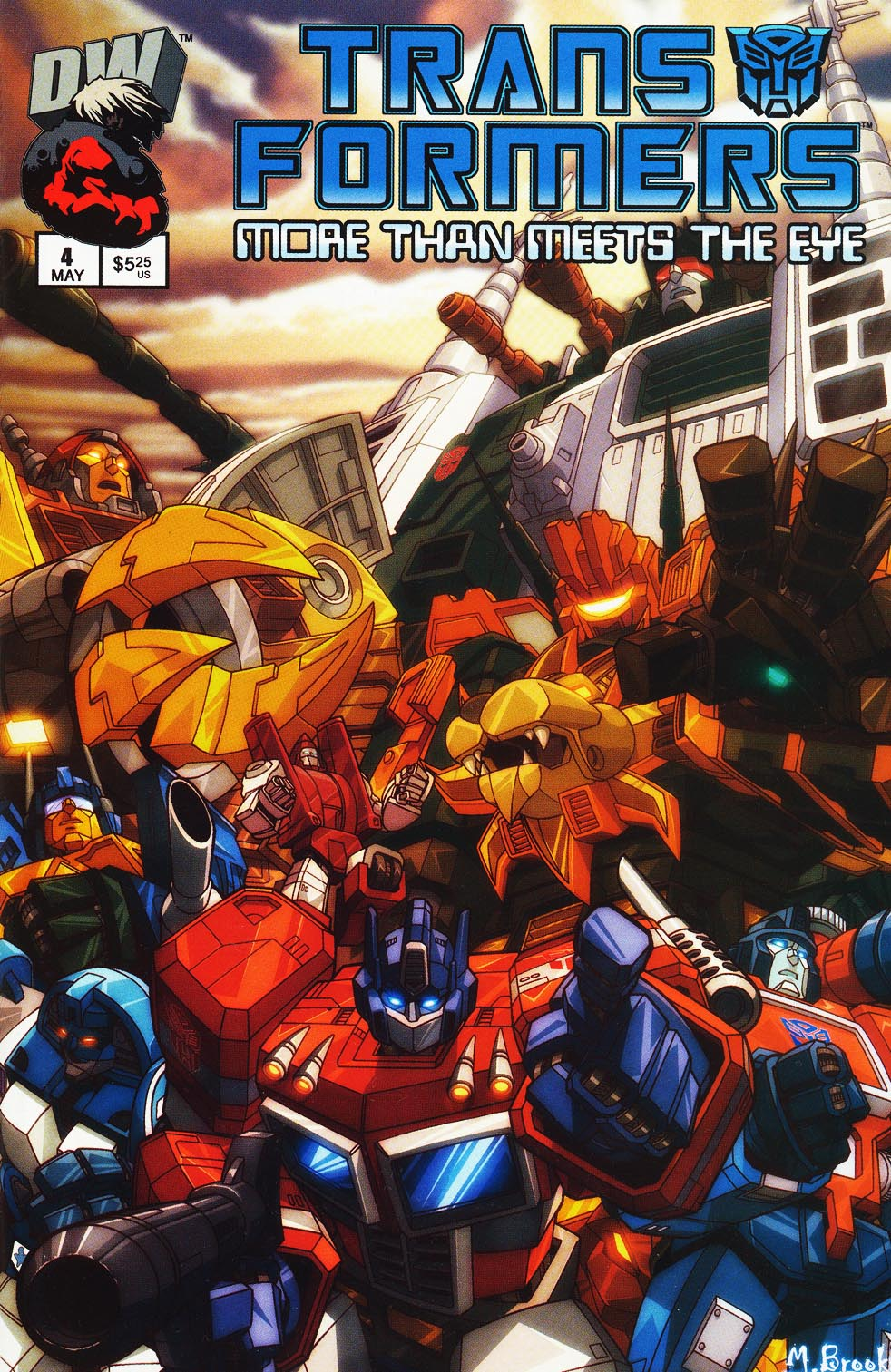 Transformers: More than Meets the Eye 4 Page 1