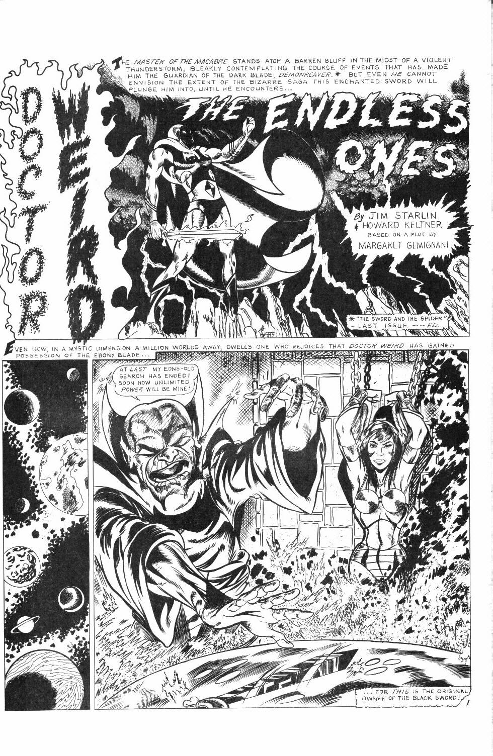 Read online Dr. Weird Special comic -  Issue # Full - 43
