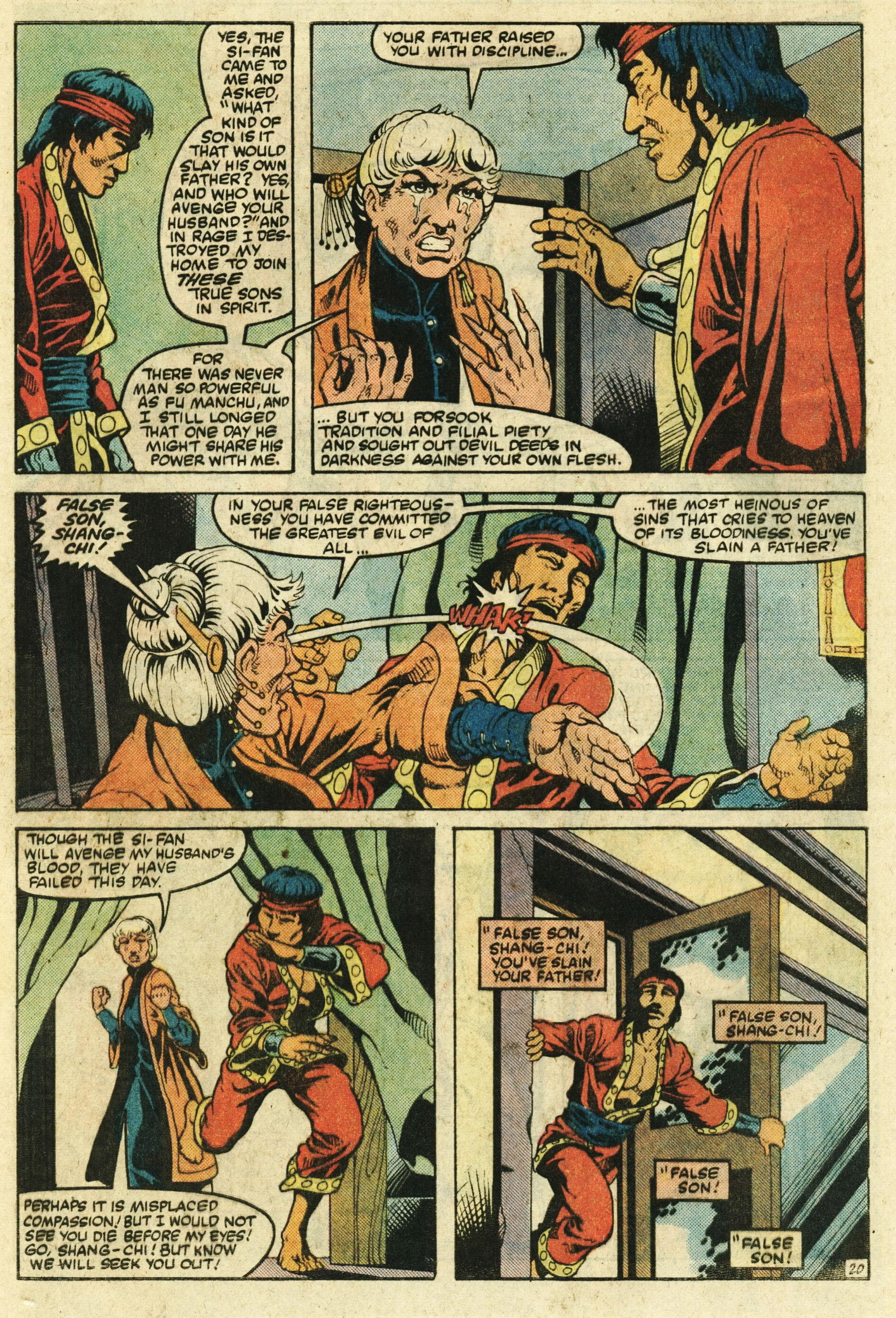 Read online Master of Kung Fu (1974) comic -  Issue #123 - 21
