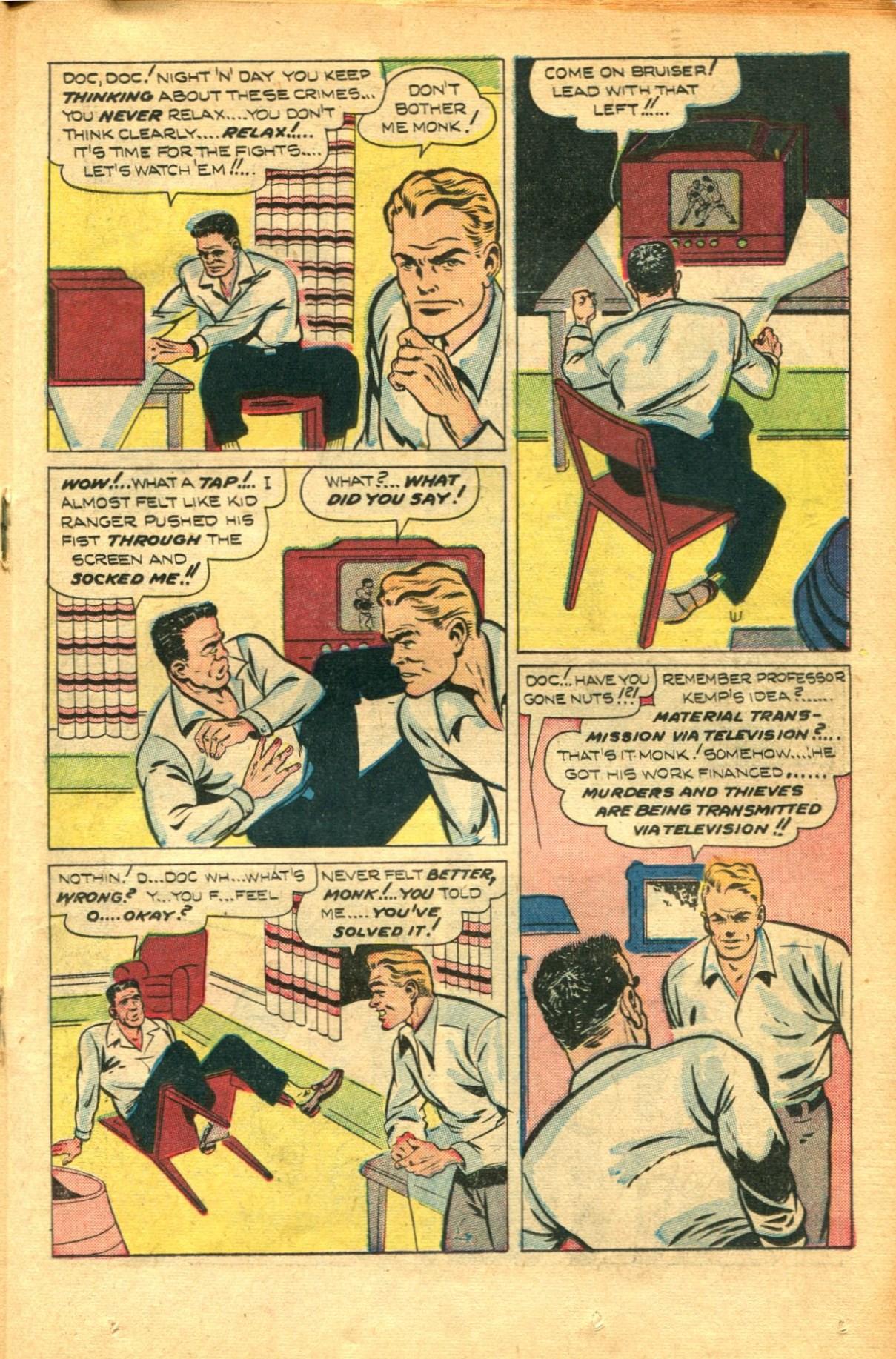Read online Shadow Comics comic -  Issue #91 - 27