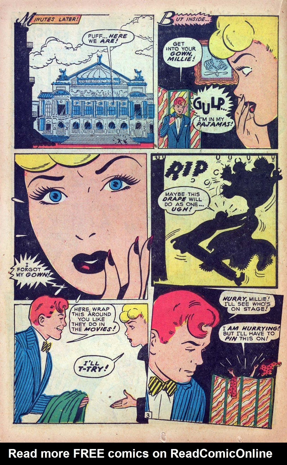 Read online Millie the Model comic -  Issue #9 - 22