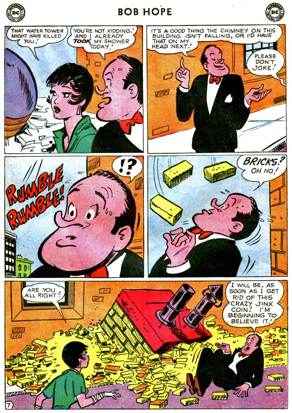 The Adventures of Bob Hope issue 71 - Page 9