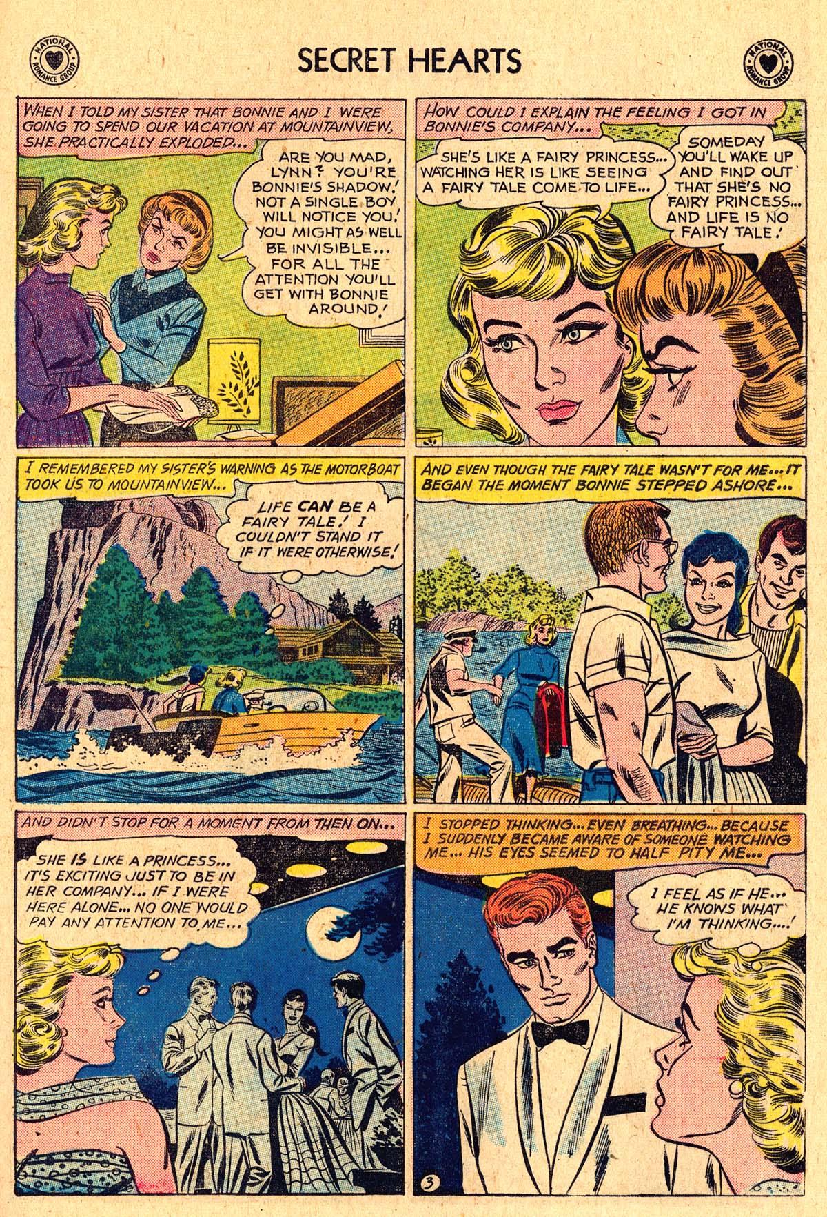 Read online Secret Hearts comic -  Issue #60 - 29