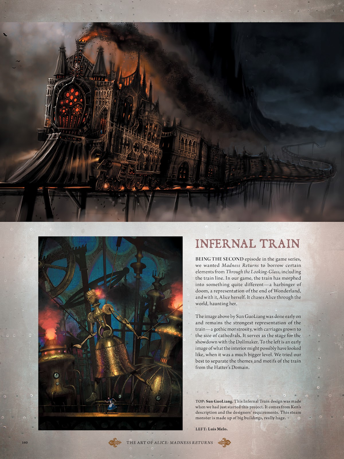 Read online The Art of Alice: Madness Returns comic -  Issue # TPB (Part 2) - 52