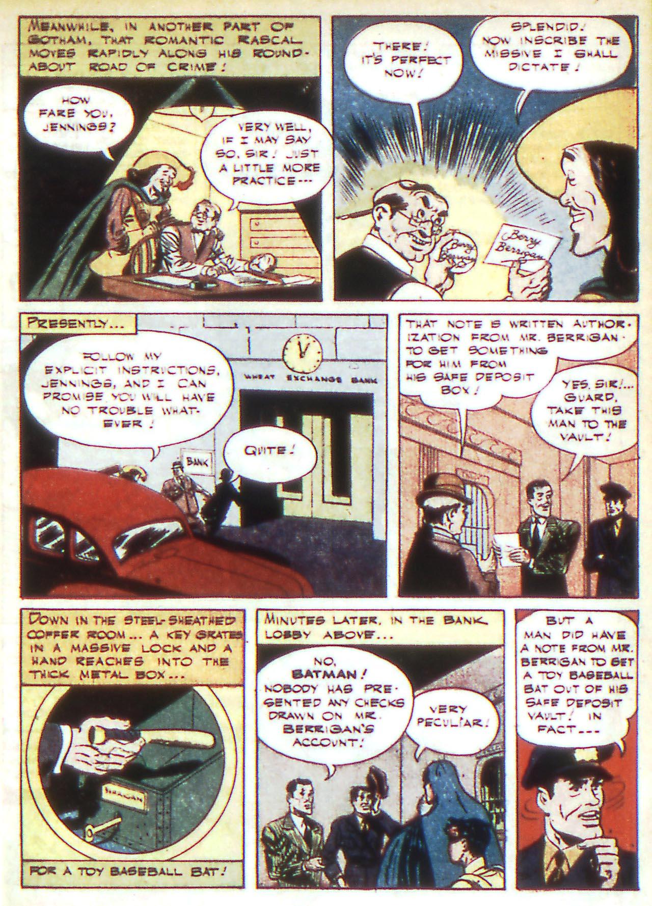 Read online Detective Comics (1937) comic -  Issue #81 - 7