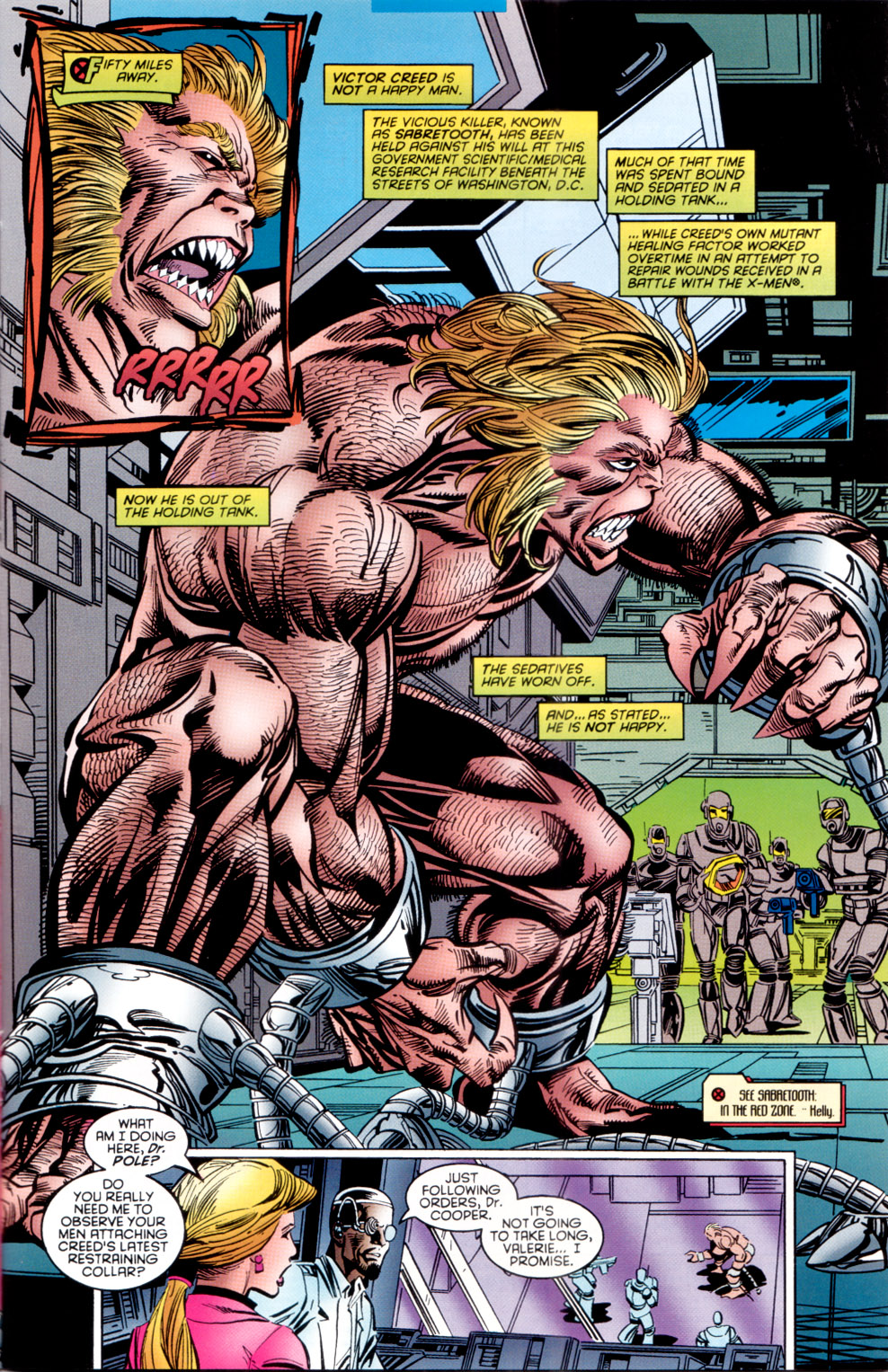Read online X-Factor (1986) comic -  Issue #120 - 7