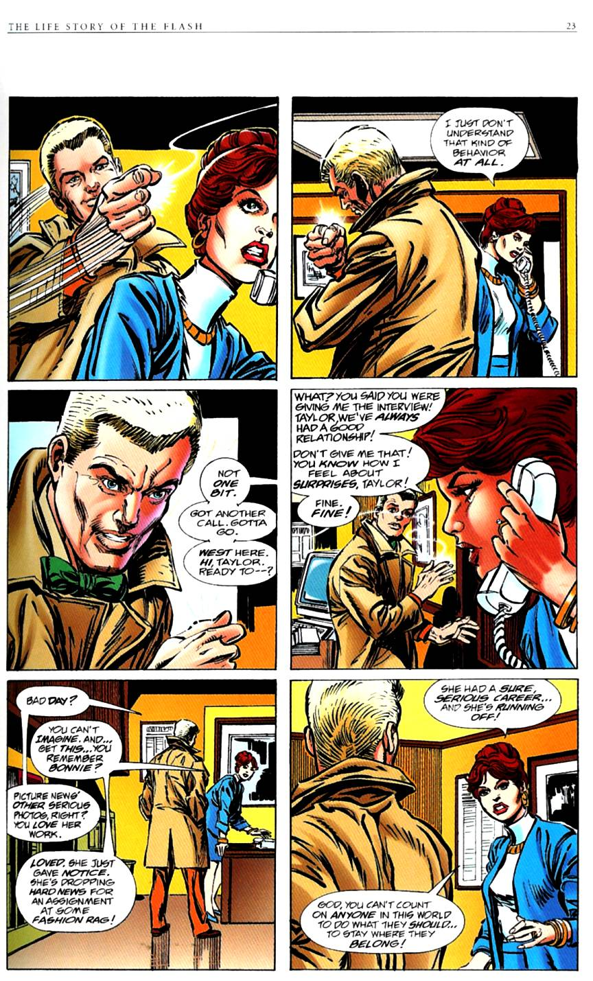 Read online The Life Story of the Flash comic -  Issue # Full - 25