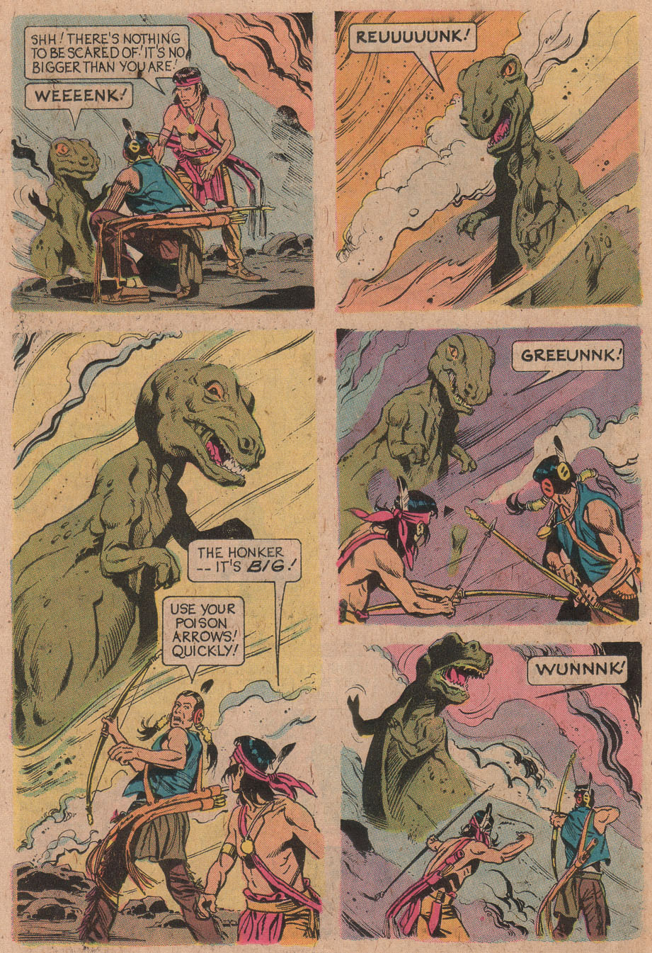 Read online Turok, Son of Stone comic -  Issue #91 - 26