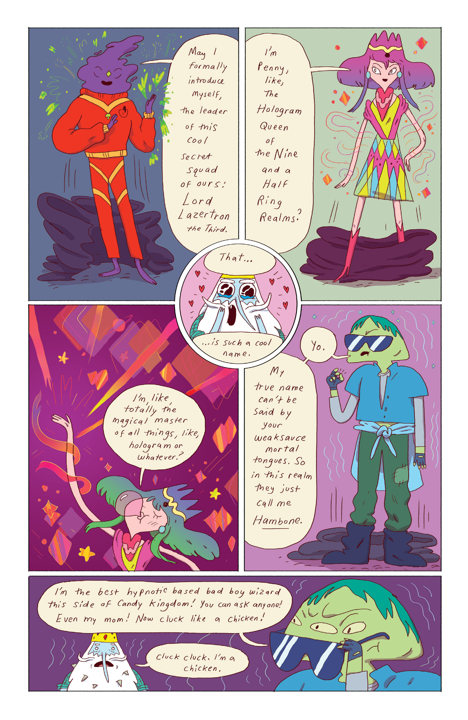 Read online Adventure Time: Ice King comic -  Issue #3 - 5