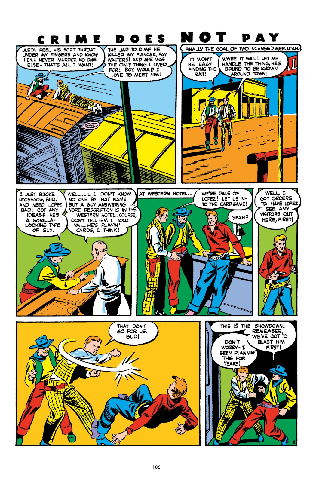 Read online Crime Does Not Pay Archives comic -  Issue # TPB 2 (Part 2) - 6