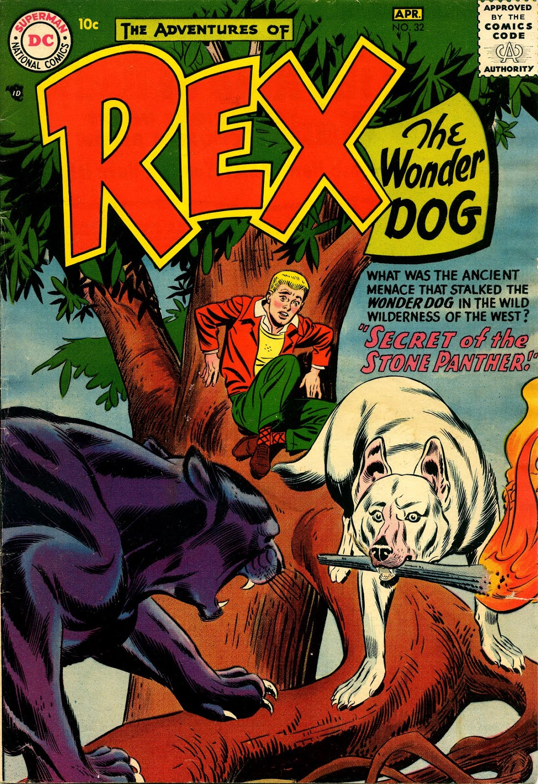 The Adventures of Rex the Wonder Dog issue 32 - Page 1