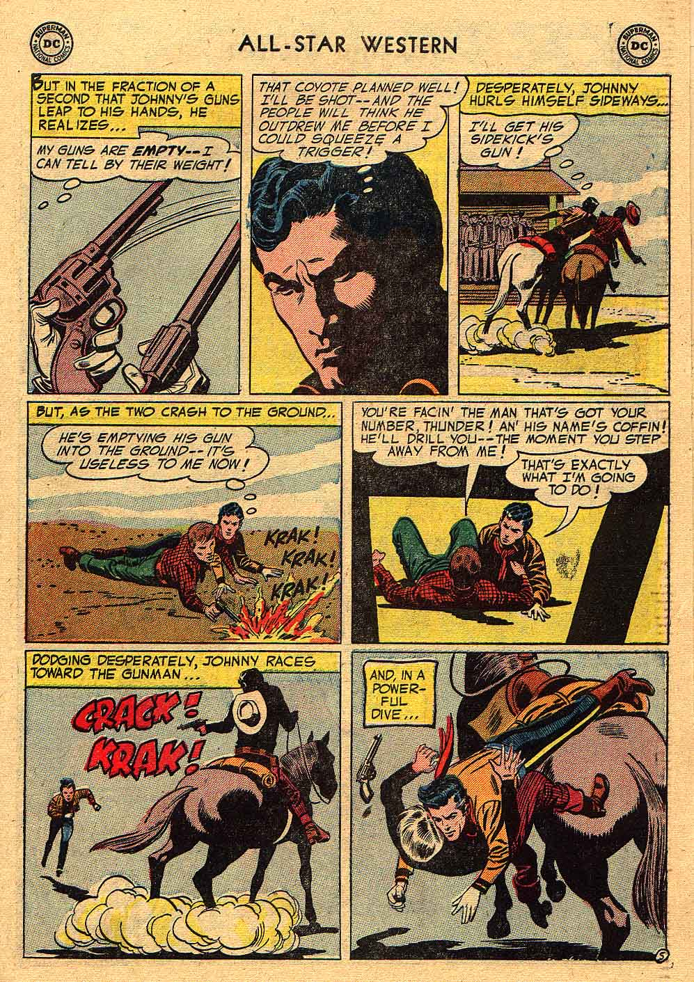 Read online All-Star Western (1951) comic -  Issue #80 - 31